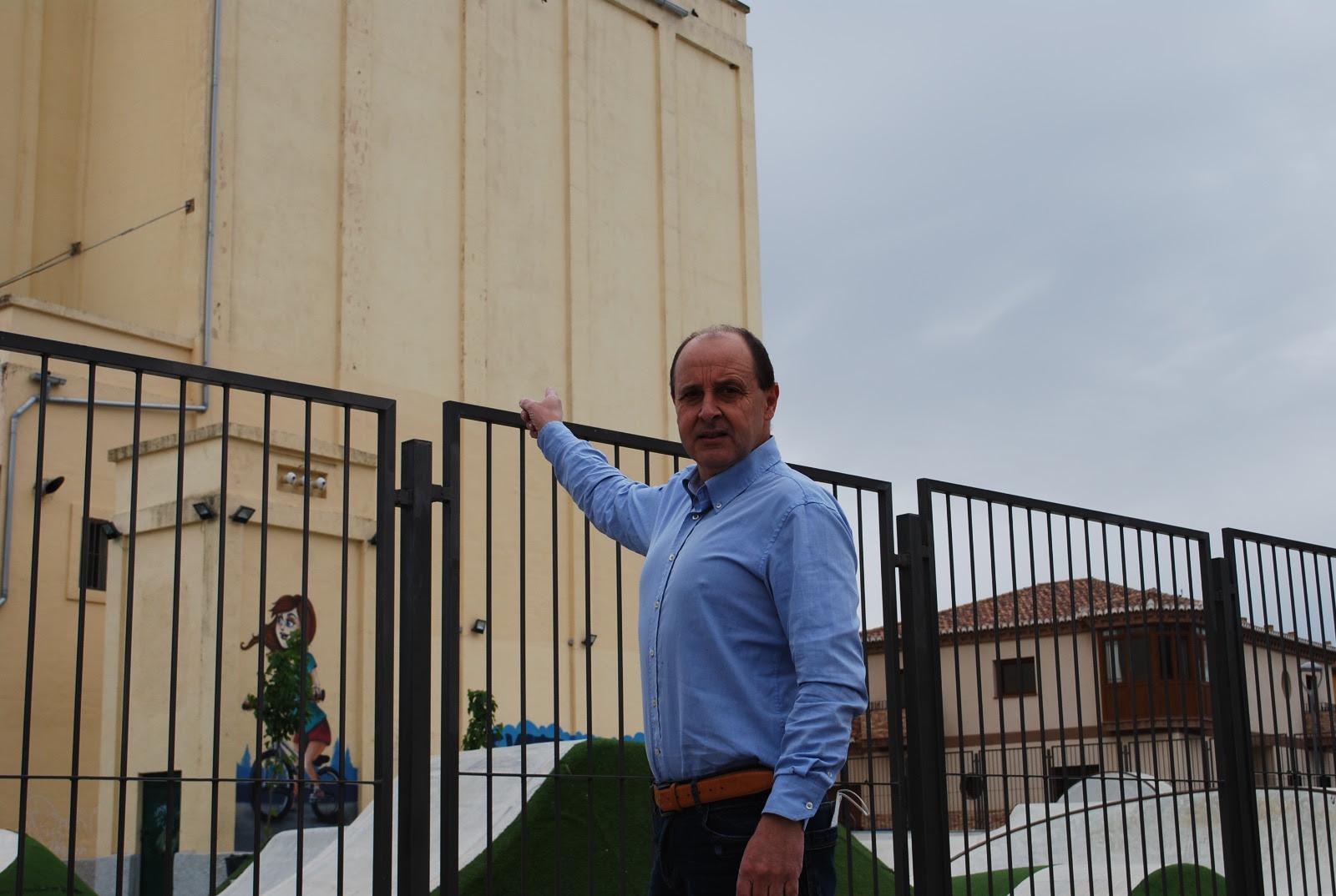 """Ciudadanos busca que el Silo de Padul se convierta en """"una gran obra de arte callejero de referencia internacional"""""""