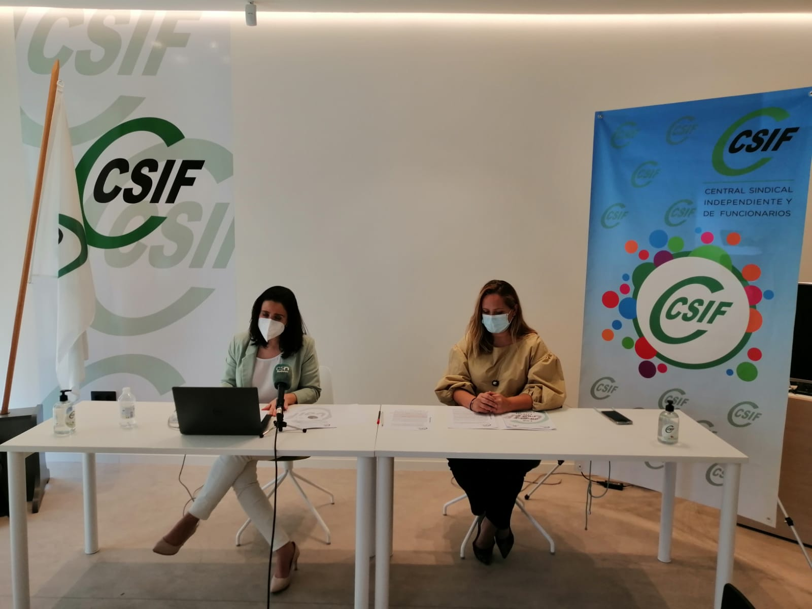 CSIF exige mantener los refuerzos COVID para el próximo curso y destaca el estrés y la angustia del profesorado