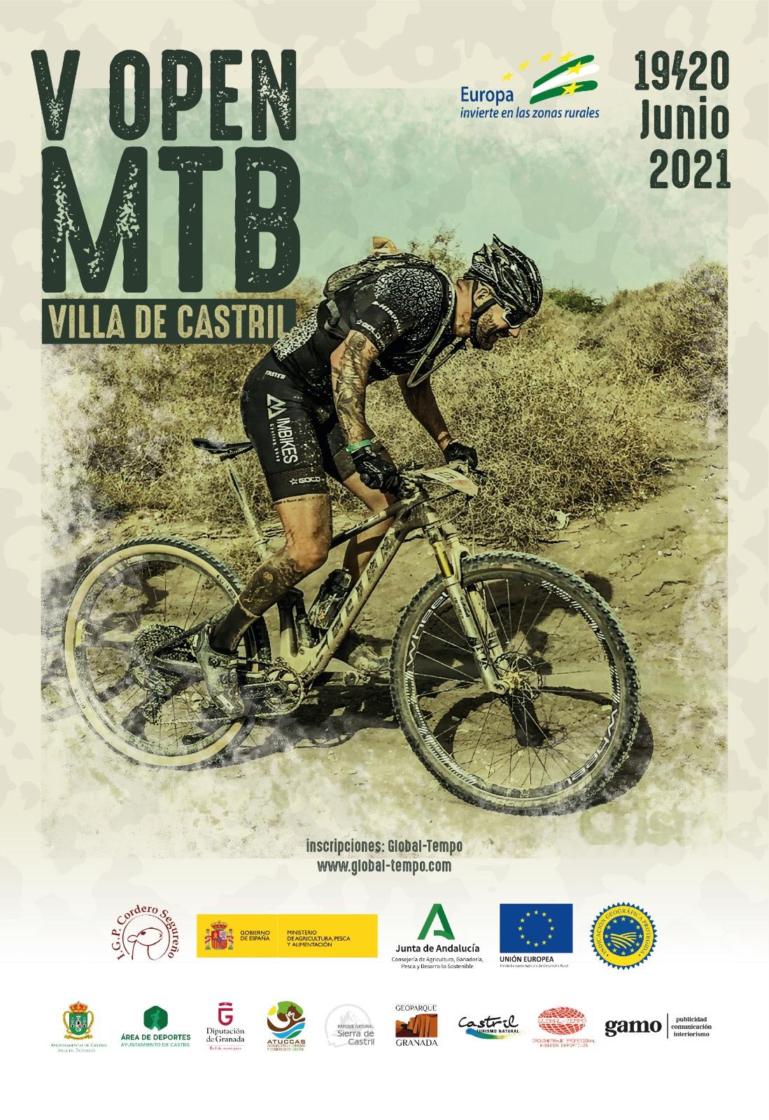Castril organiza la quinta edición del Open Mountain Bike