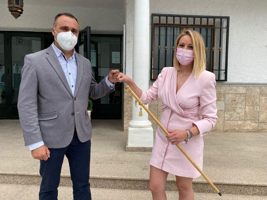 Sandra García ya es nueva alcaldesa de El Valle