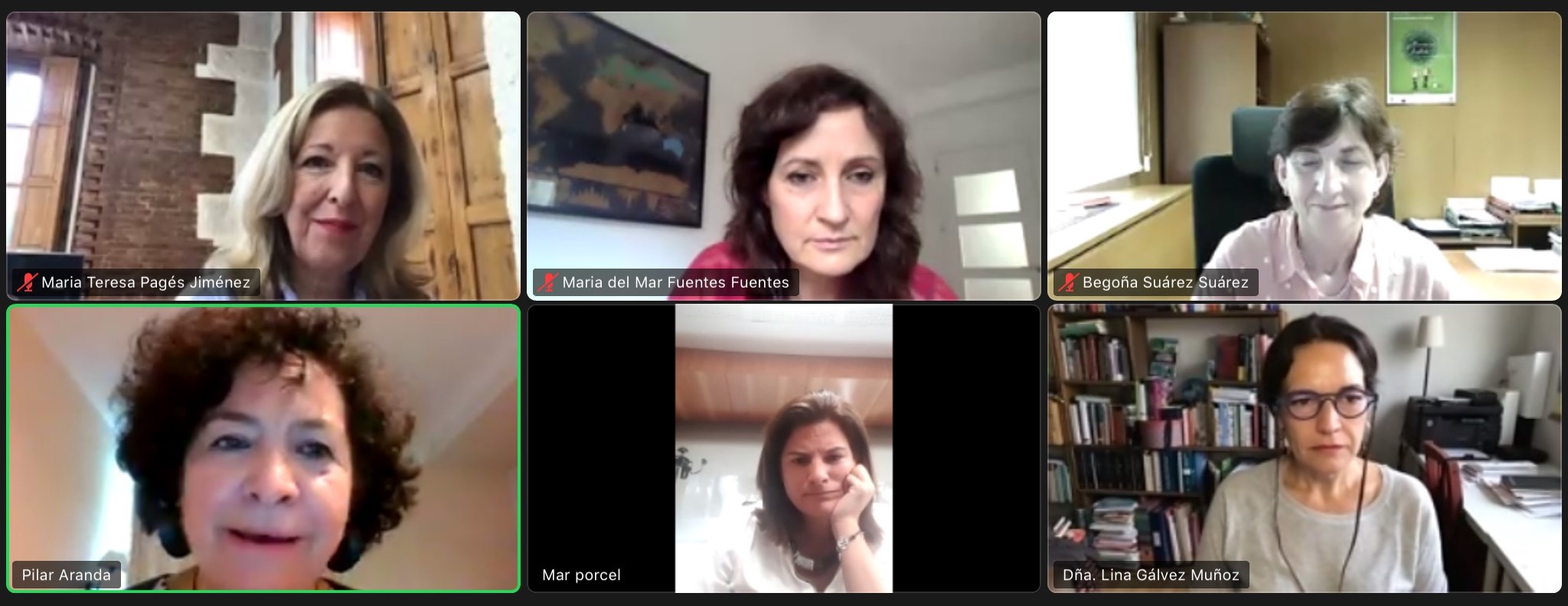 Organizan un encuentro digital para poner cara a referentes femeninos pese a la brecha de género