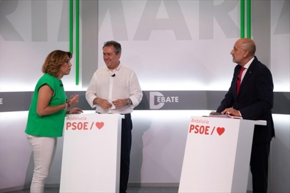 Más de 6.000 militantes del PSOE podrán elegir este domingo a quien liderará la candidatura a la Presidencia de la Junta de Andalucía