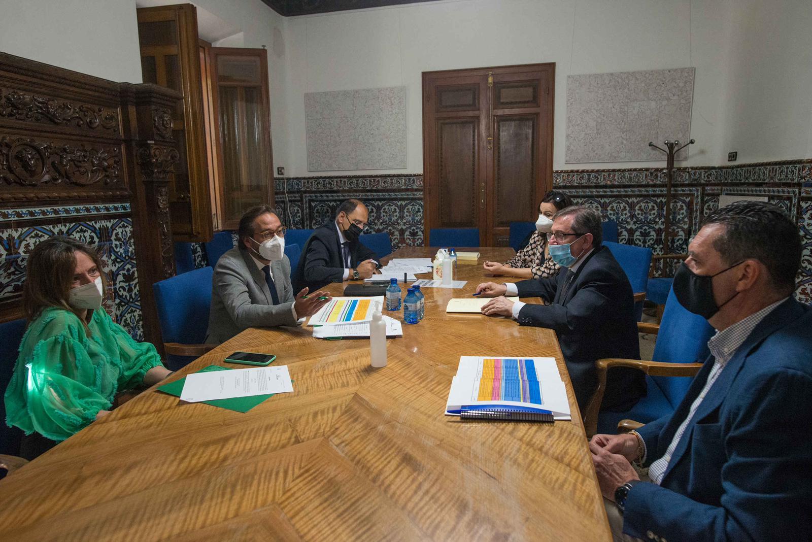 Cultura constituye las comisiones de seguimiento del Plan Alhambra
