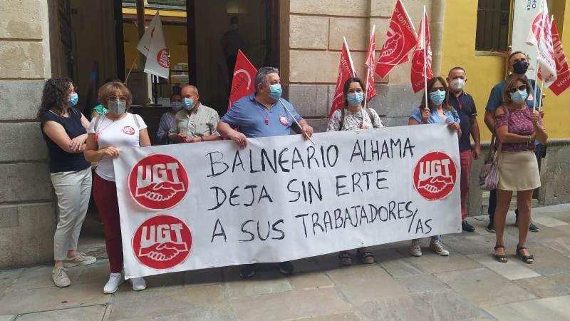 UGT denuncia que el Balneario de Alhama de Granada no ha incluido a los fijos discontinuos en el ERTE, incumpliendo un acuerdo del SERCLA