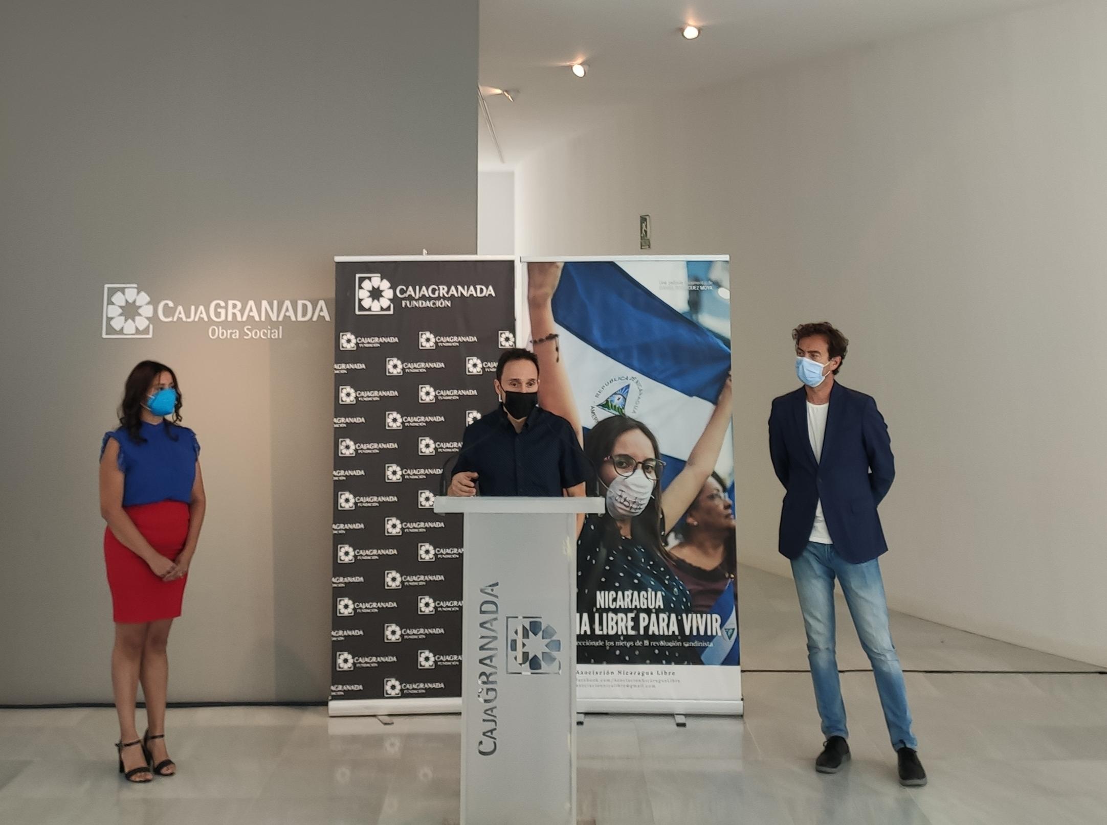 El Centro Cultural CajaGranada acoge el documental 'Nicaragua, patria libre para vivir', el documental que retrata la represión en el país