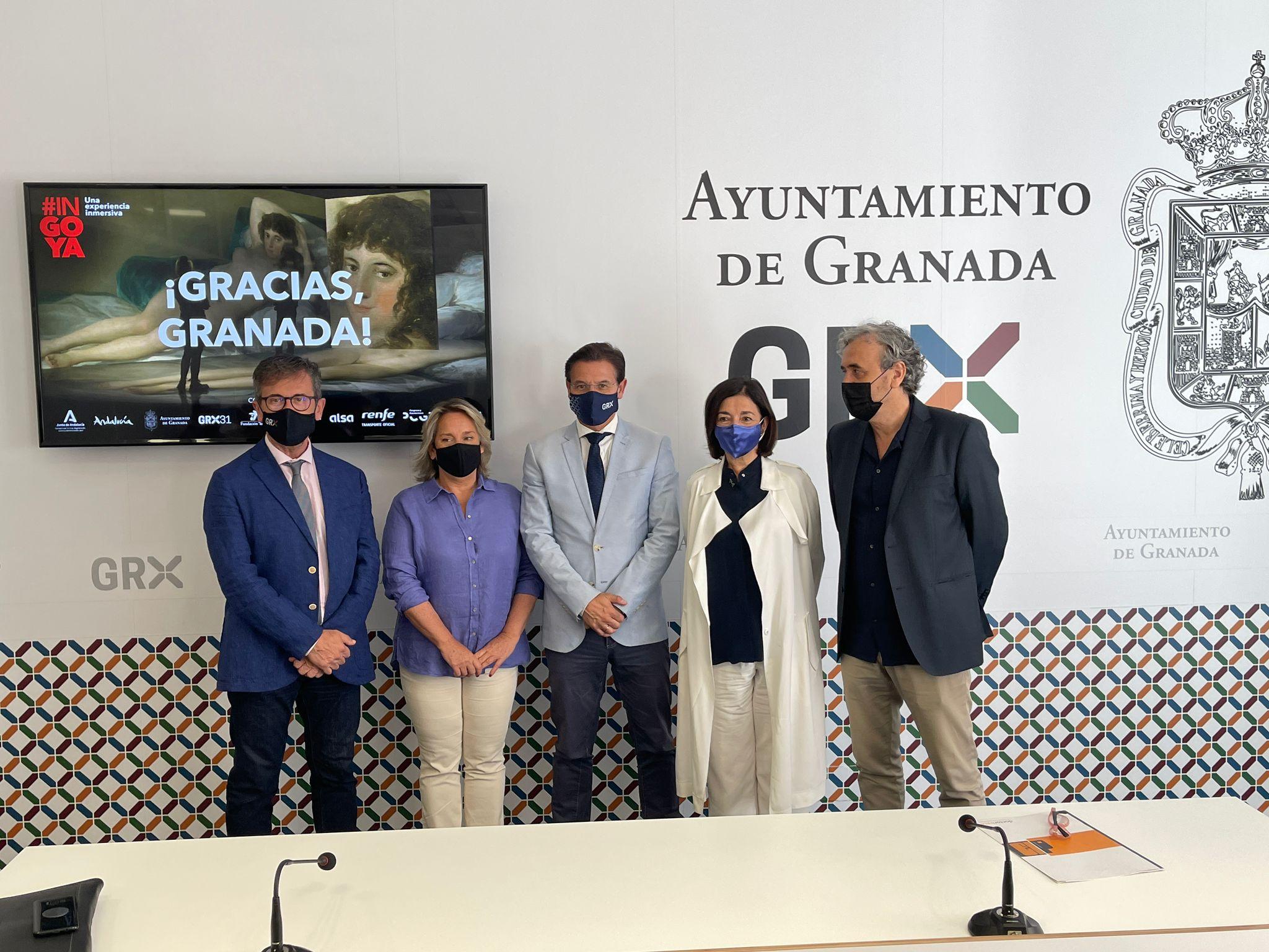 La Junta pone en valor el impacto de la exposición #INGOYA en el turismo de Granada