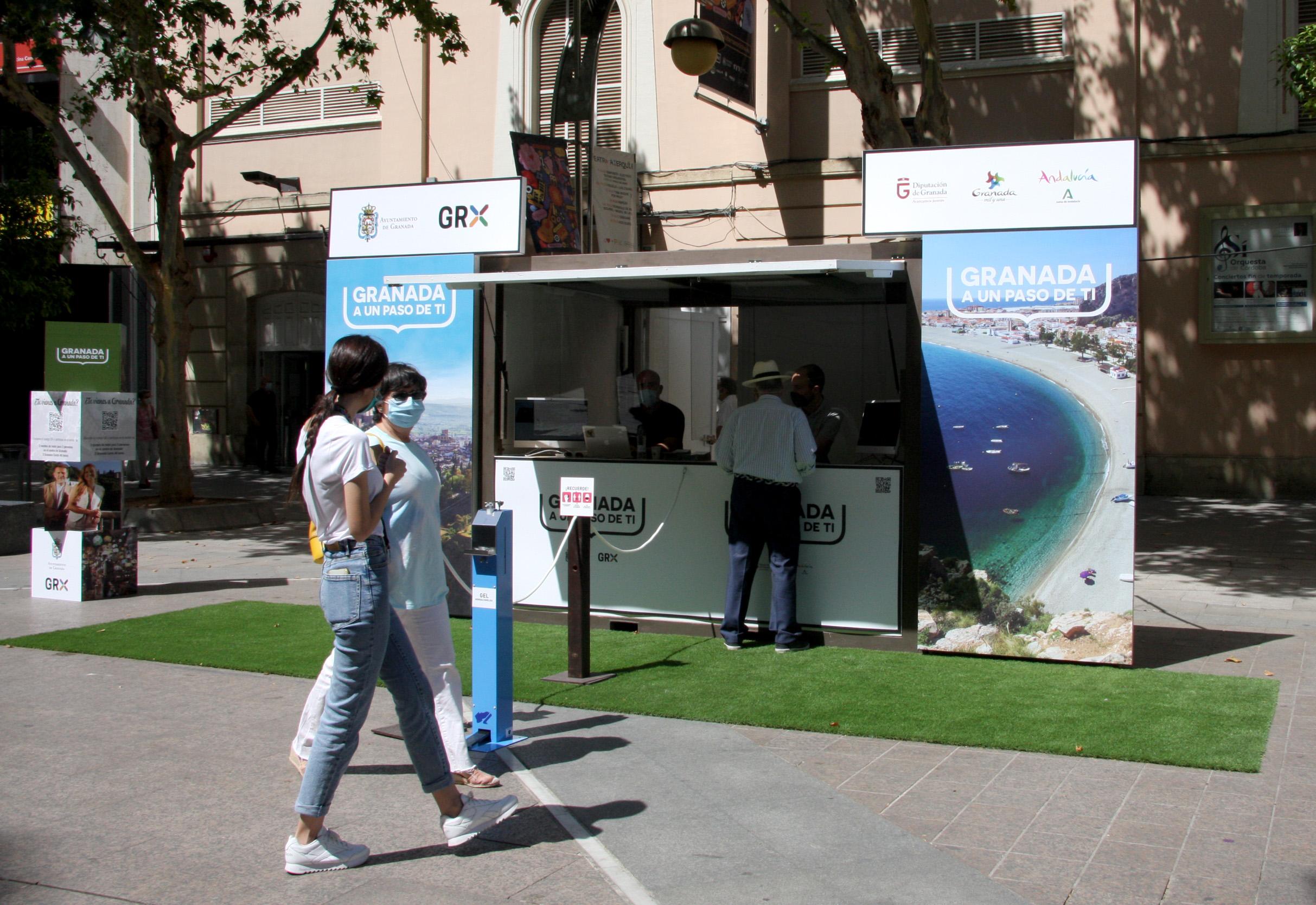 La Diputación de Granada reactiva en Córdoba su promoción turística en ciudades AVE