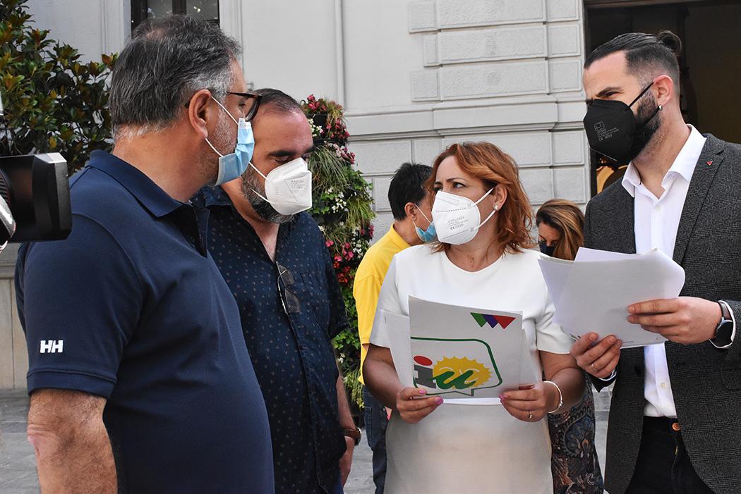 IU alerta del bloqueo a los accesos a los campos de cultivo de Huétor Vega y Cájar