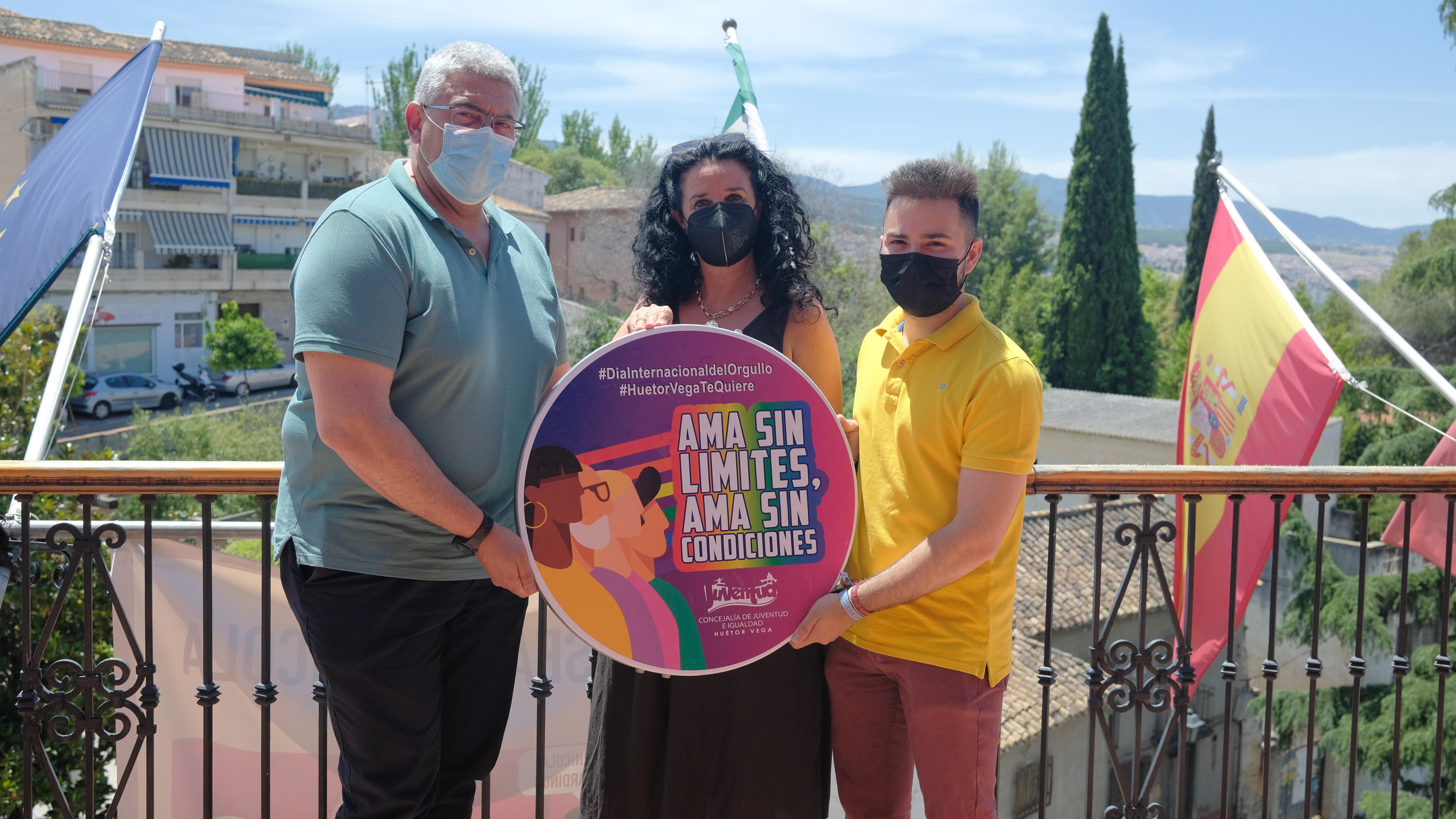Huétor Vega pone en marcha una campaña para evitar la discriminación a causa de la orientación sexual