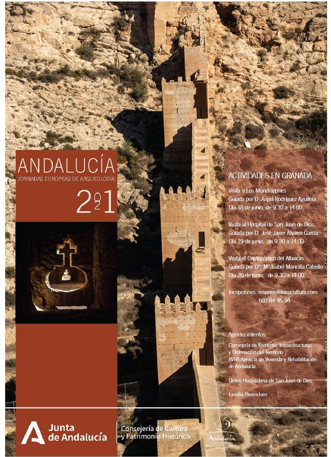 Yacimientos y enclaves de Granada, Galera, Baza, Guadix y Salar se abren en las Jornadas Europeas de Arqueología