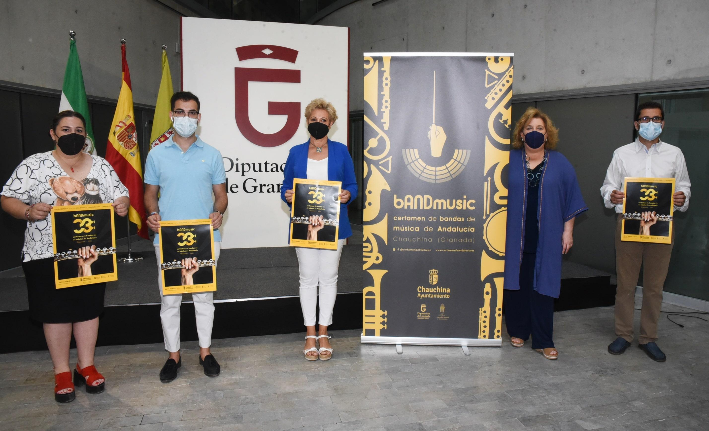 El Certamen de Bandas de Chauchina homenajeará a los sanitarios y recordará a las víctimas de la pandemia