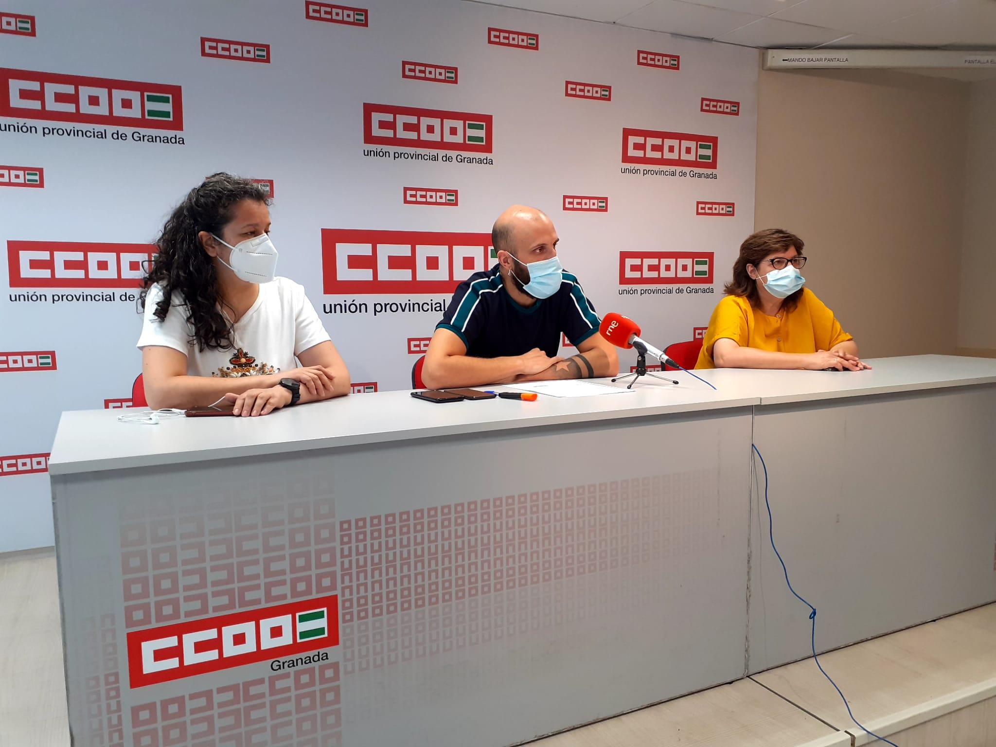 CCOO denuncia la precariedad laboral en el sector de los comedores escolares