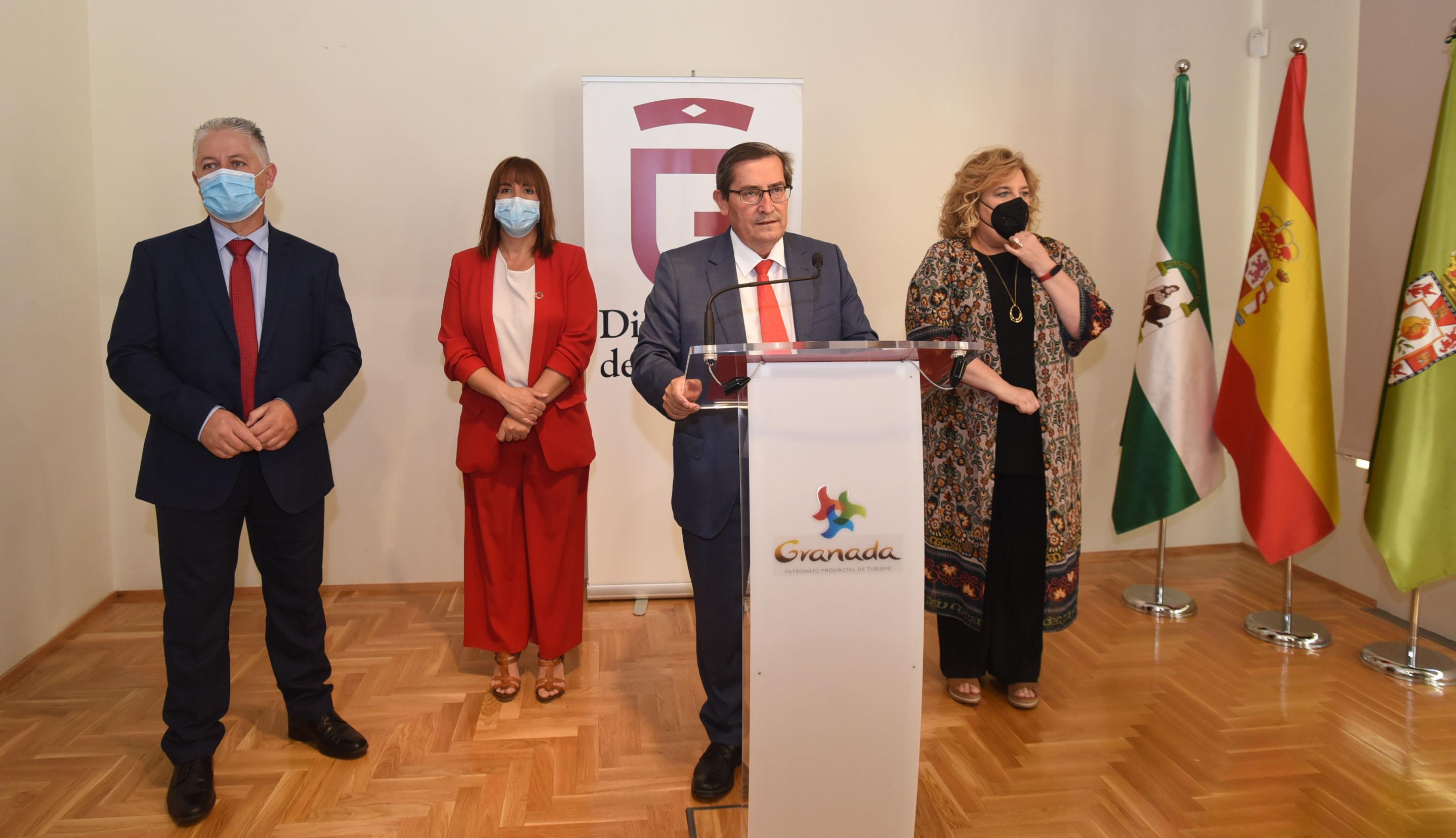Diputación centra su gestión en la recuperación económica y la lucha contra la despoblación