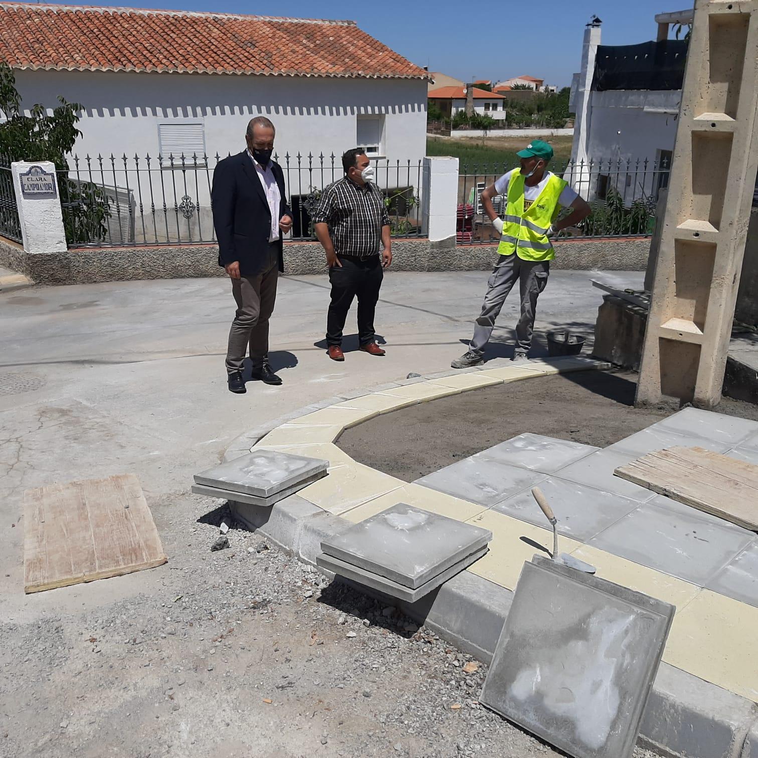 Destinan más de 25.000 euros en Cogollos de Guadix para mejorar infraestructuras