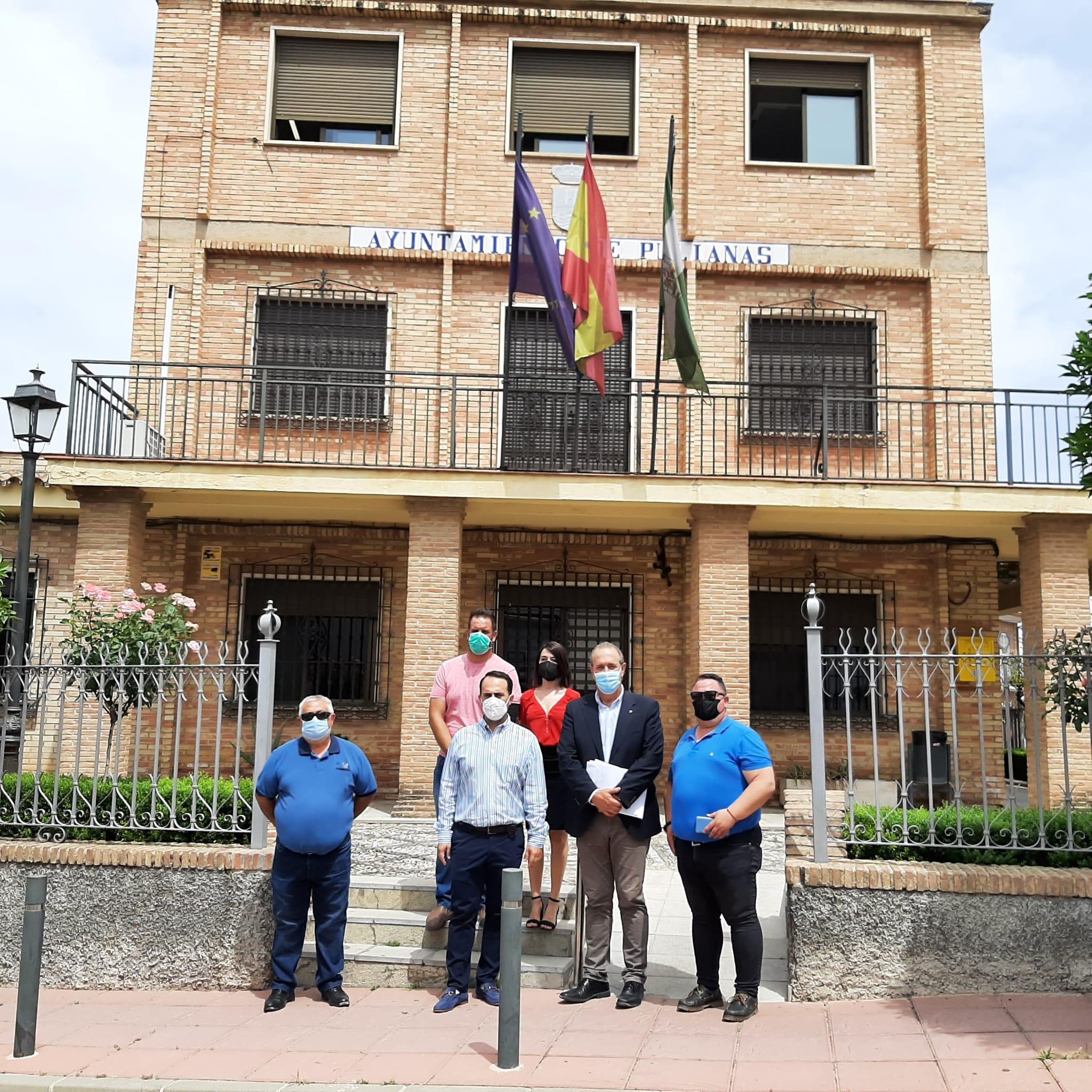 Administración Local invierte 47.800 euros para reparar daños de la DANA en Pulianas