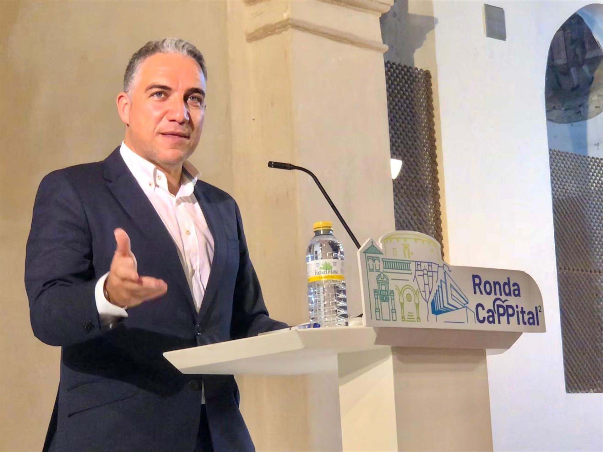 Bendodo: «Que el Gobierno de España no cuente con Andalucía para arruinar definitivamente a la hostelería»