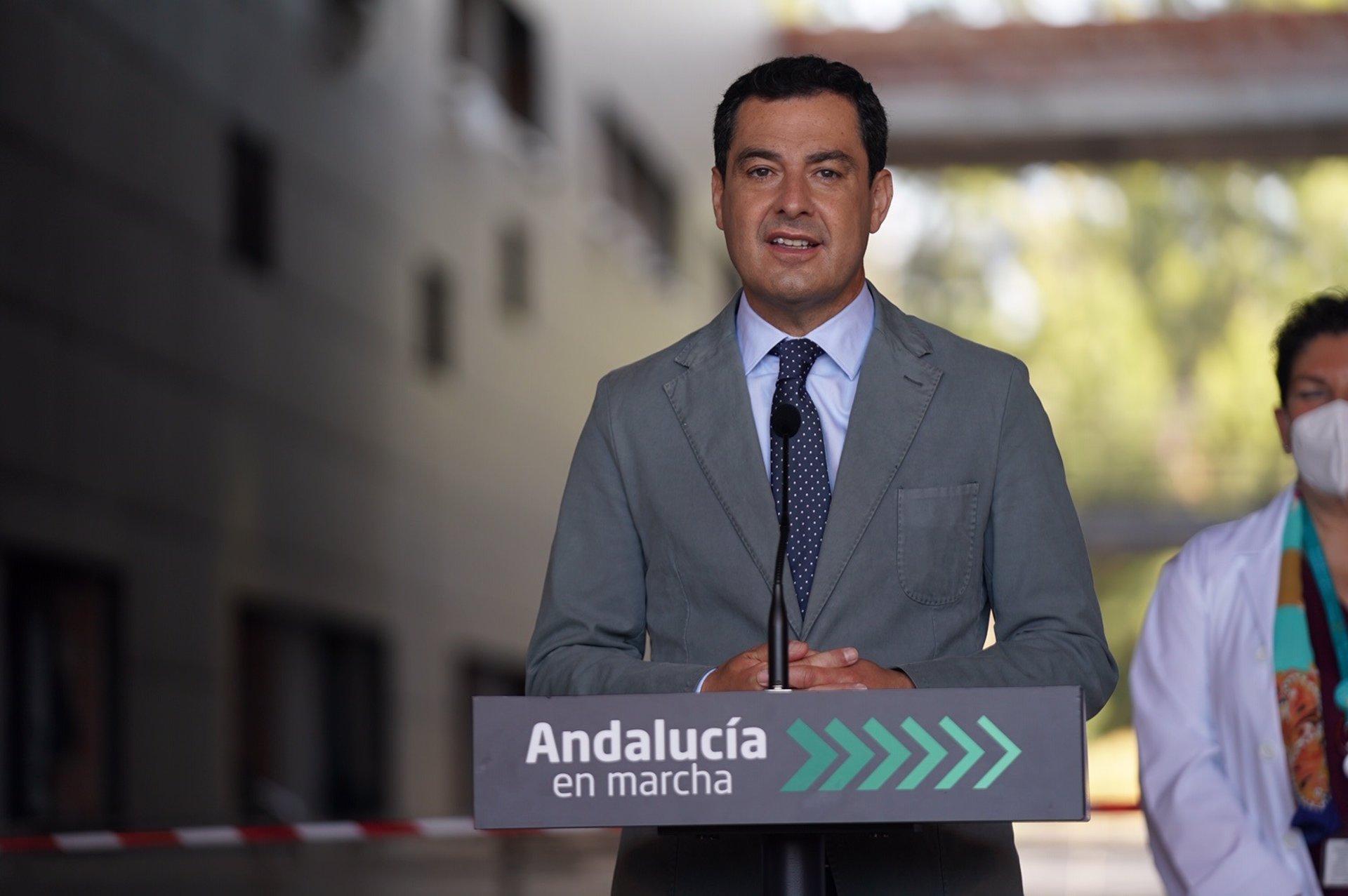 Moreno espera que se busque una solución en Granada y pide que se cumplan los acuerdos