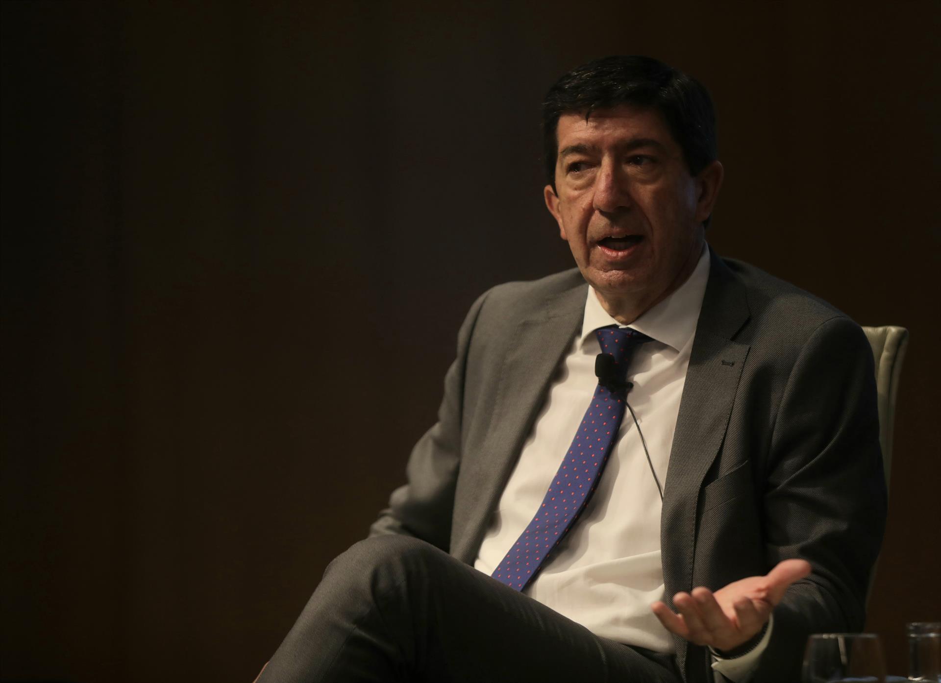 Marín afirma que la situación en ayuntamientos de Granada y Jaén, «en absoluto», auguran adelanto electoral en Andalucía