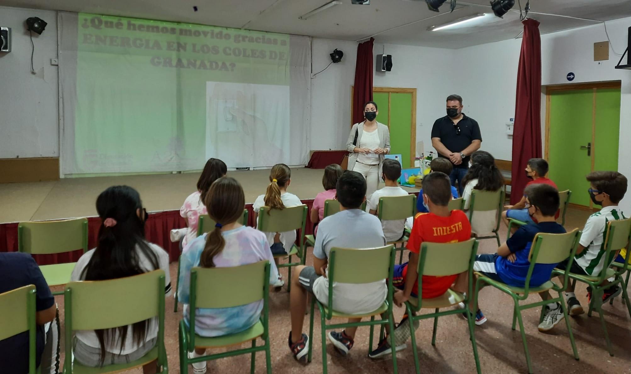 """10 colegios de la provincia celebran los resultados obtenidos en el programa """"Energía en los Coles de Granada"""""""