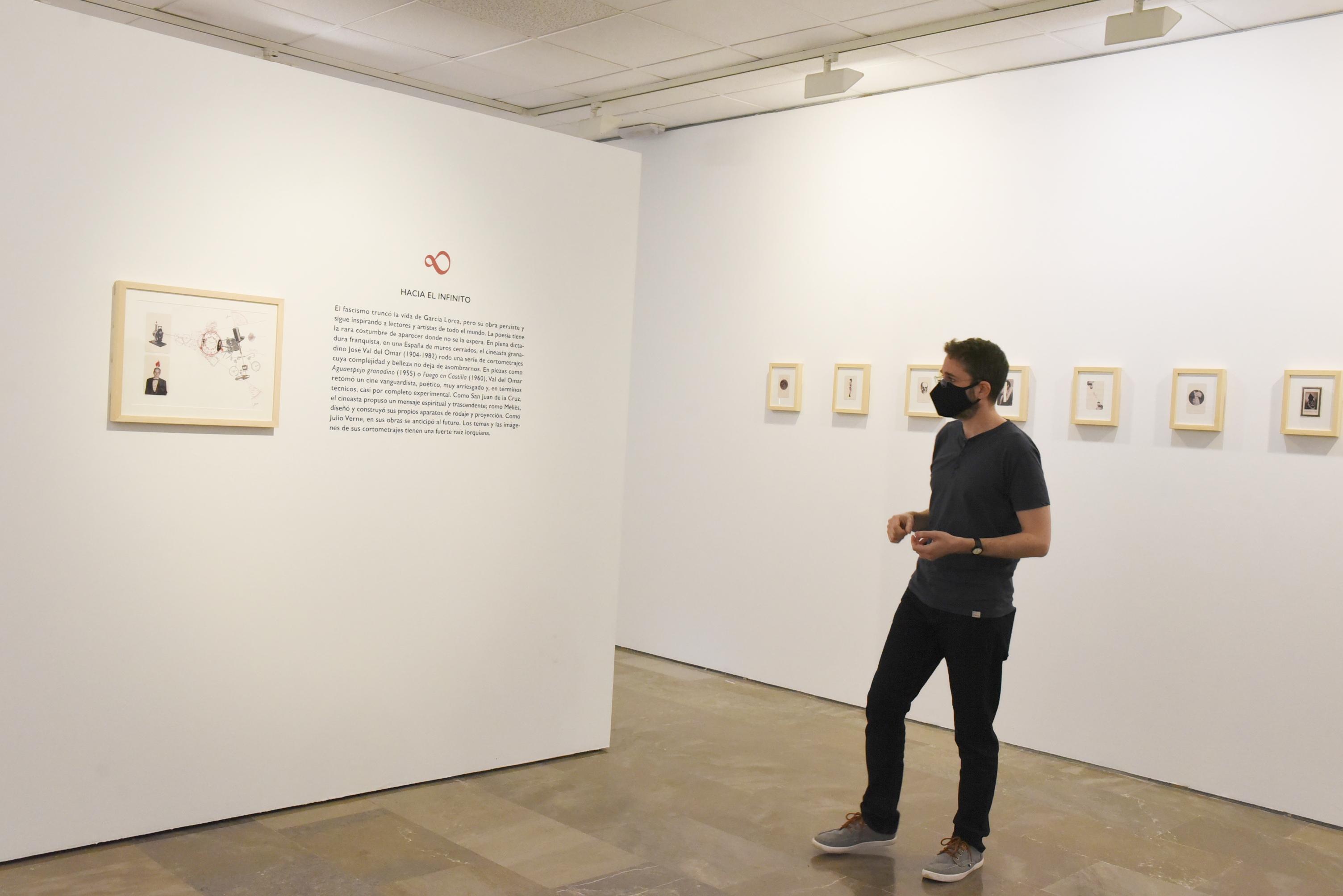 Una exposición muestra 34 piezas sobre el único guion cinematográfico de Lorca
