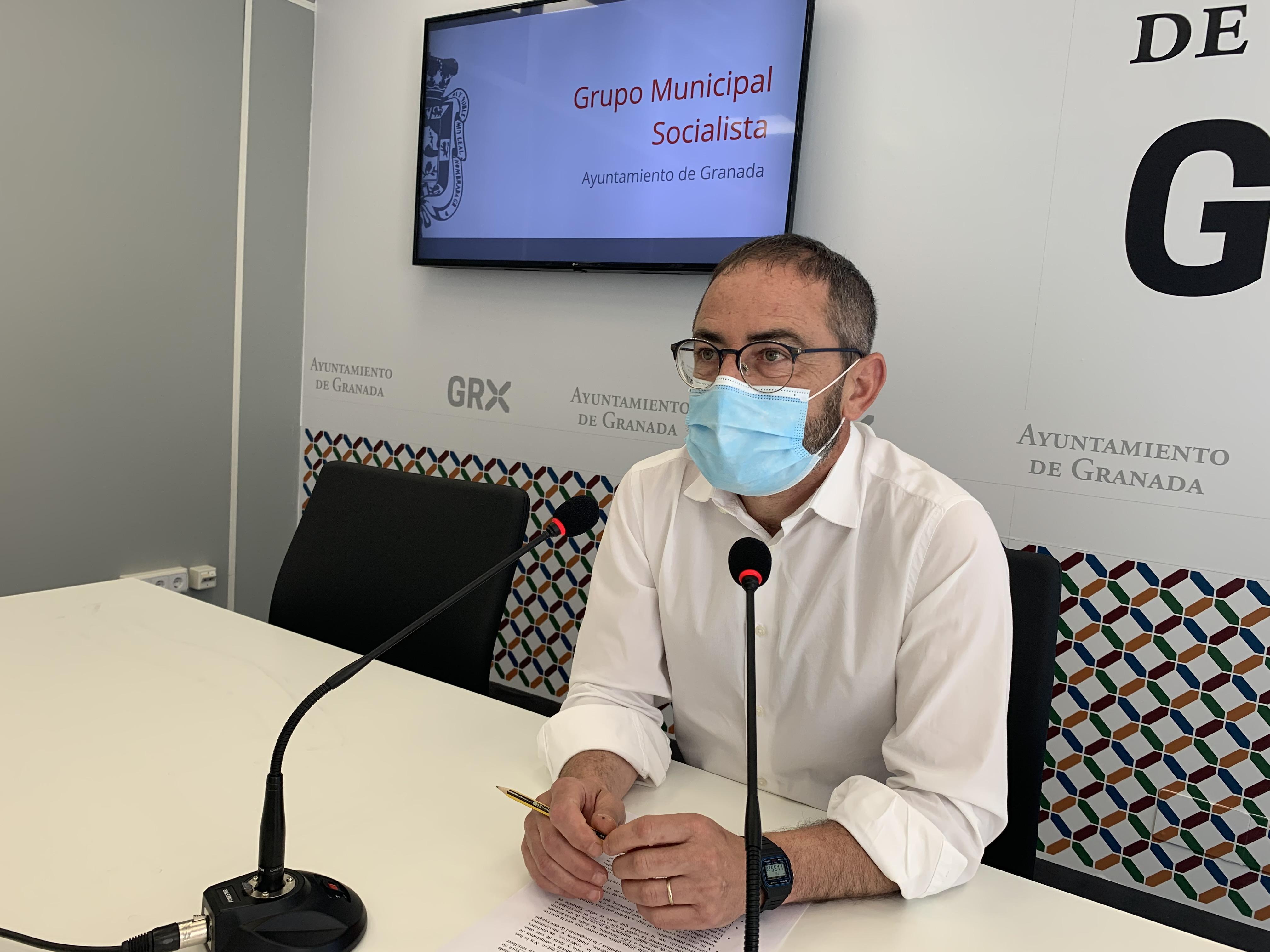 El PSOE acusa al PP de «renegar del Urbanismo» y tener la ciudad «paralizada y sin obra pública»