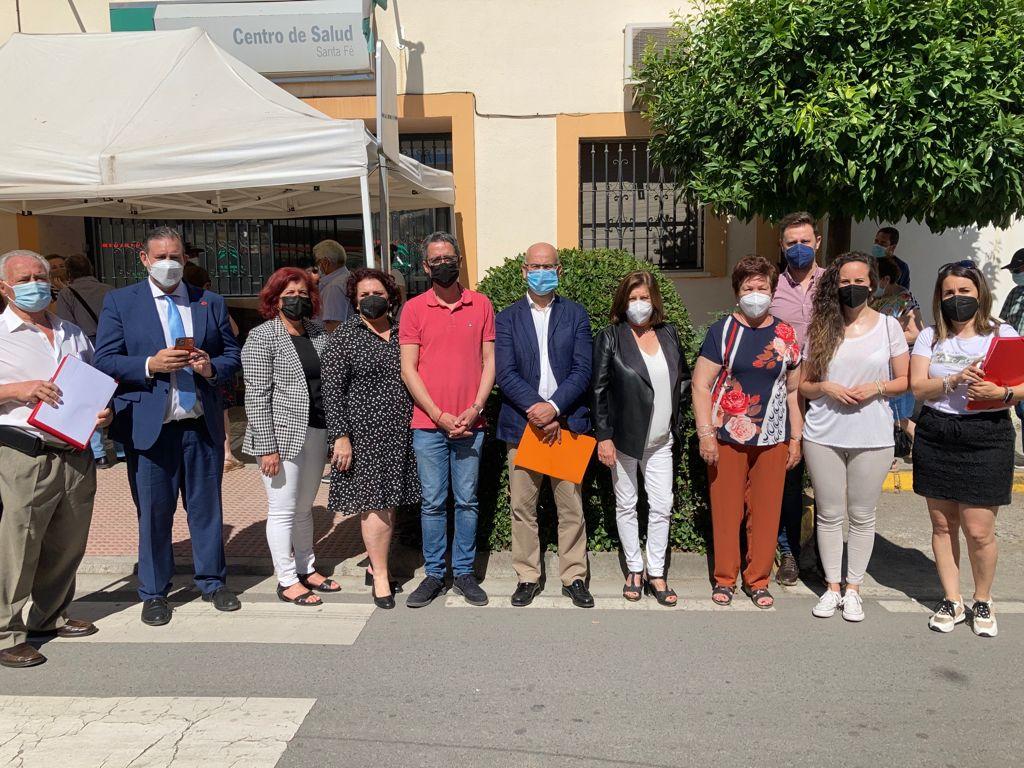 El PSOE pide a la Junta «recuperar la presencialidad y el refuerzo de personal» en el centro de salud de Santa Fe