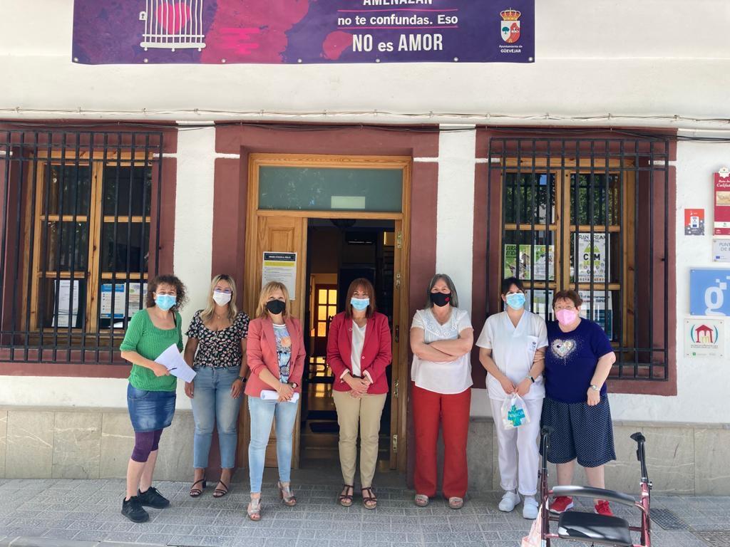 Diputación destina más de 24.700 euros a ayudas sociales a través de contratos de trabajo para personas vulnerables en Güevéjar