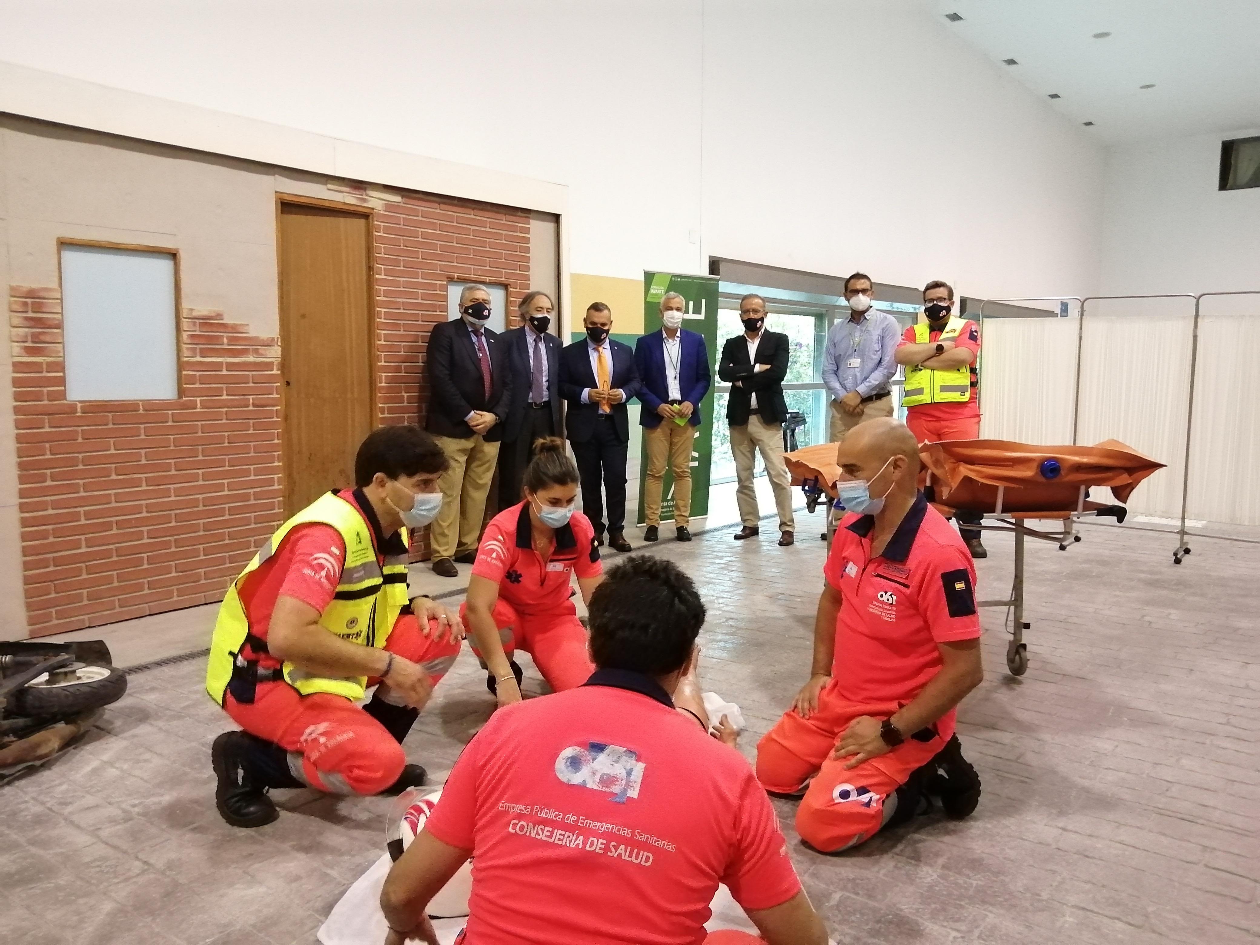 El 061 inicia el programa de formación especializada en Trauma Grave en Andalucía