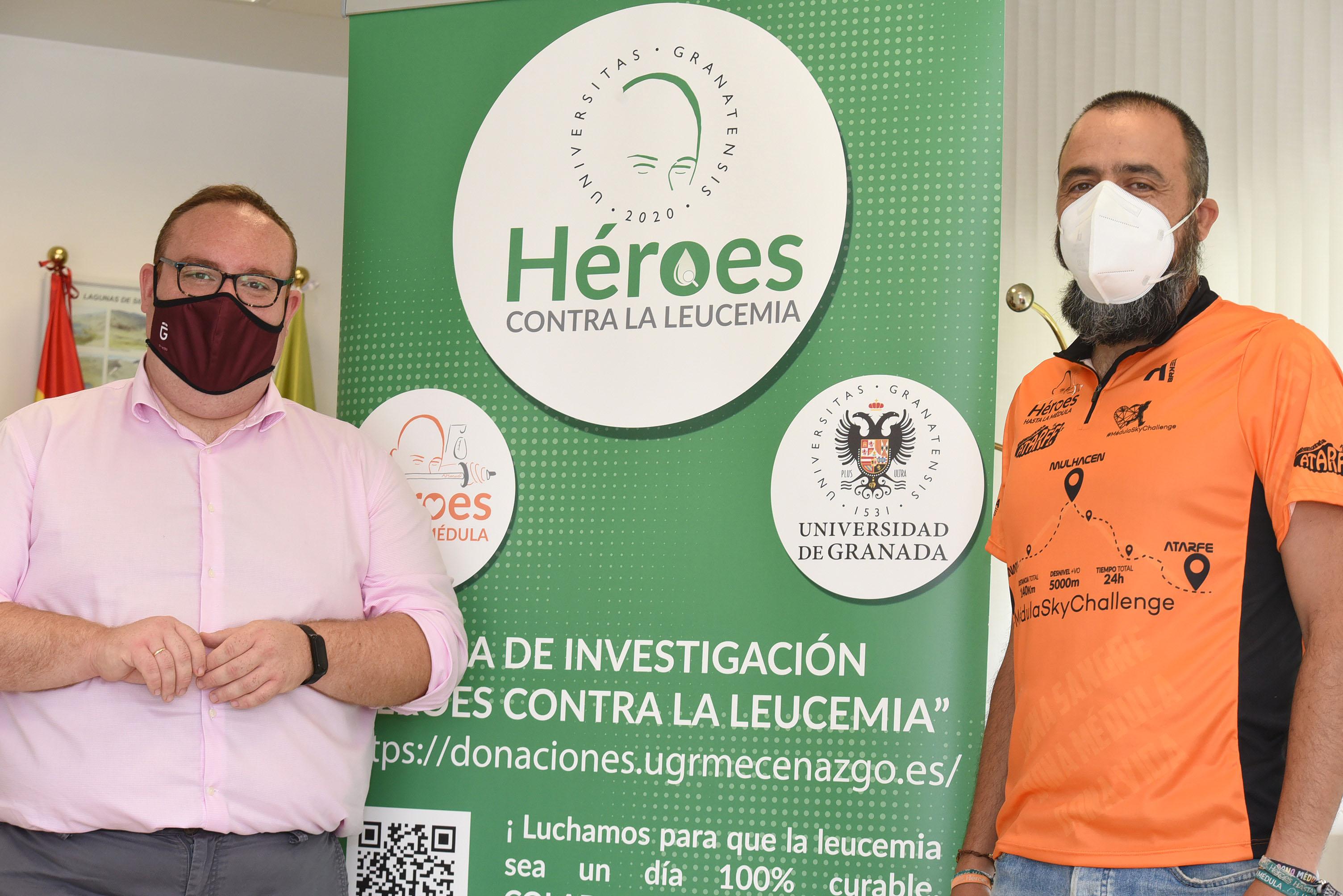 """Apoyo de la Diputación al reto solidario de """"Héroes contra la leucemia"""""""