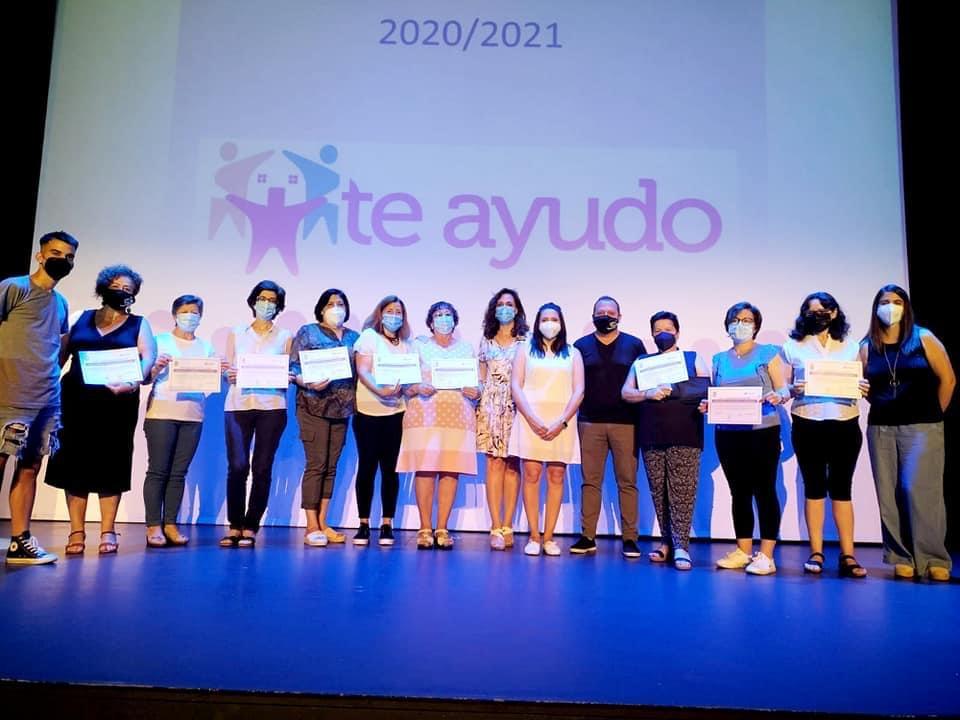 Cúllar Vega clausura la edición número 12 de su programa de asistencia a domicilio 'T-Ayudo'