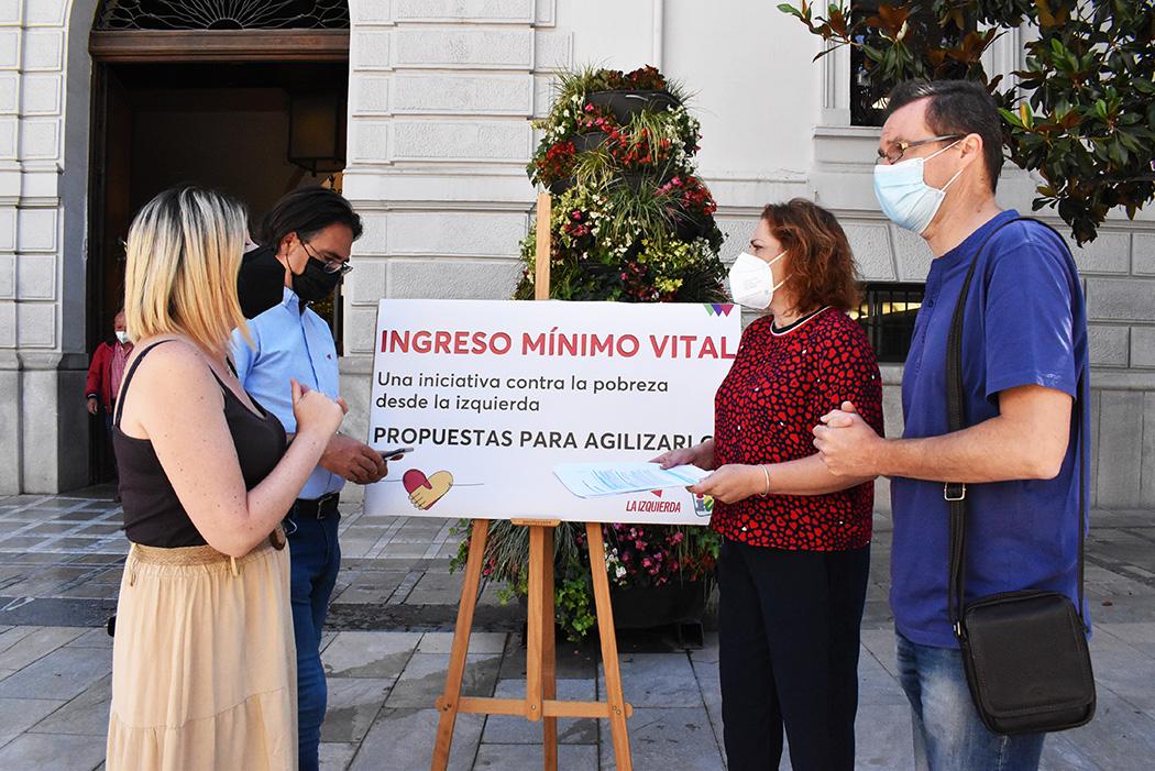 IU exige la aceleración de los trámites en la gestión del Ingreso Mínimo Vital en la provincia