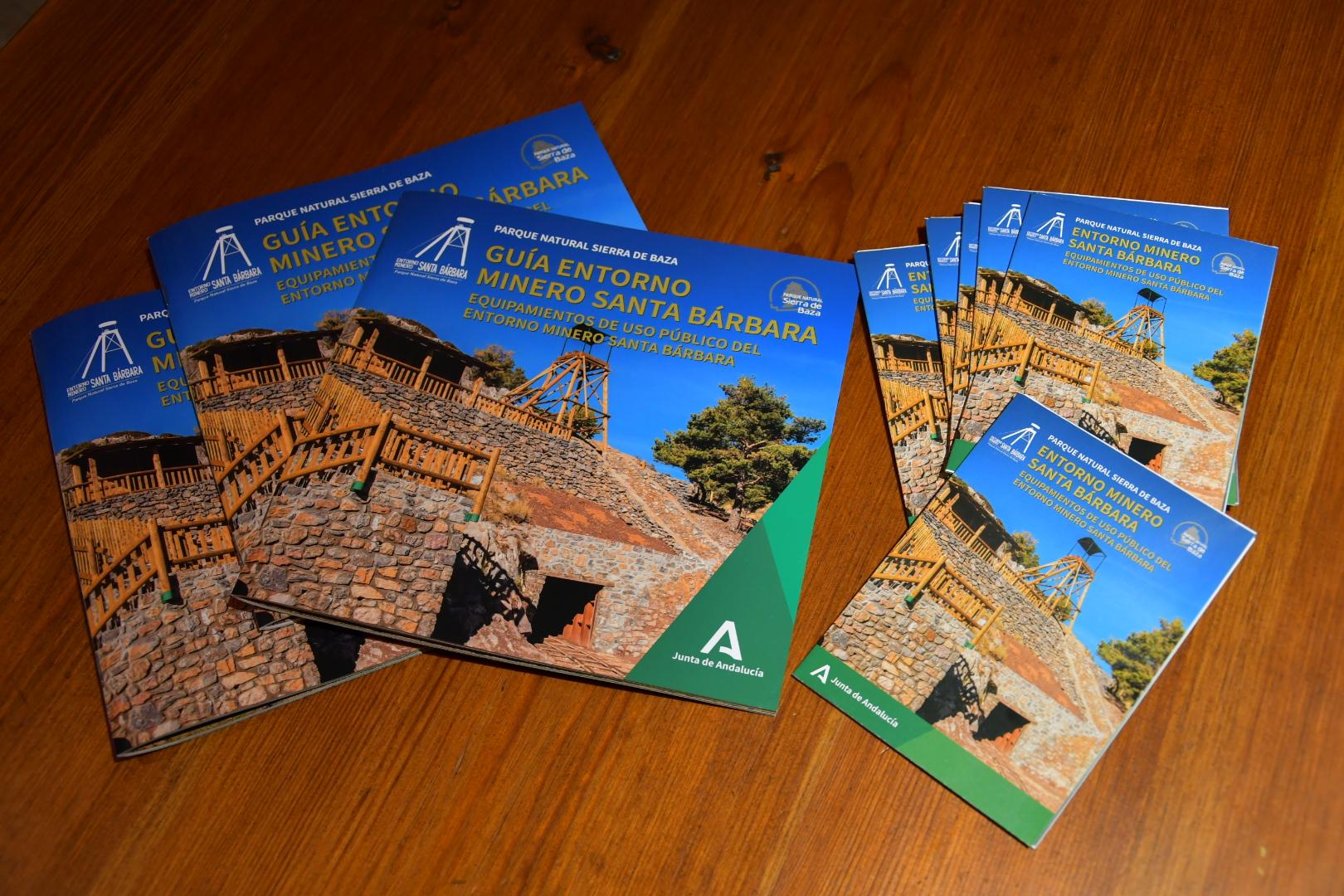 Una guía divulga las características del Entono Minero Santa Bárbara en el Parque Natural Sierra de Baza