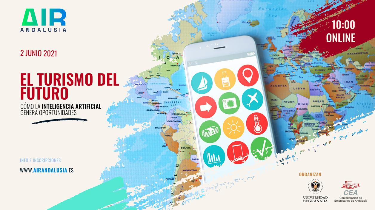 Una jornada virtual analiza el turismo del futuro y su relación con la Inteligencia Artificial