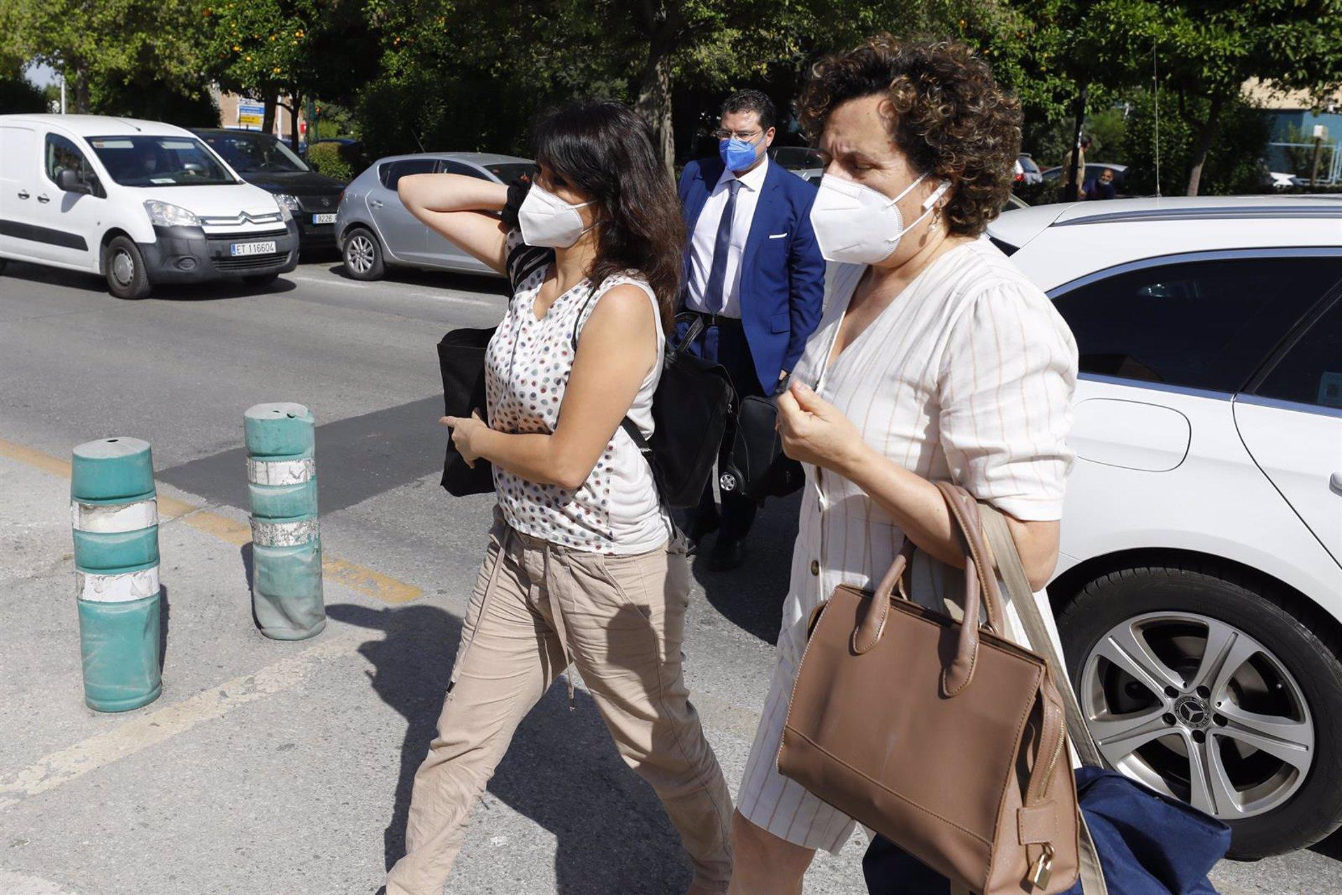 Juana Rivas ingresa en el centro Matilde Cantos para cumplir su condena a prisión