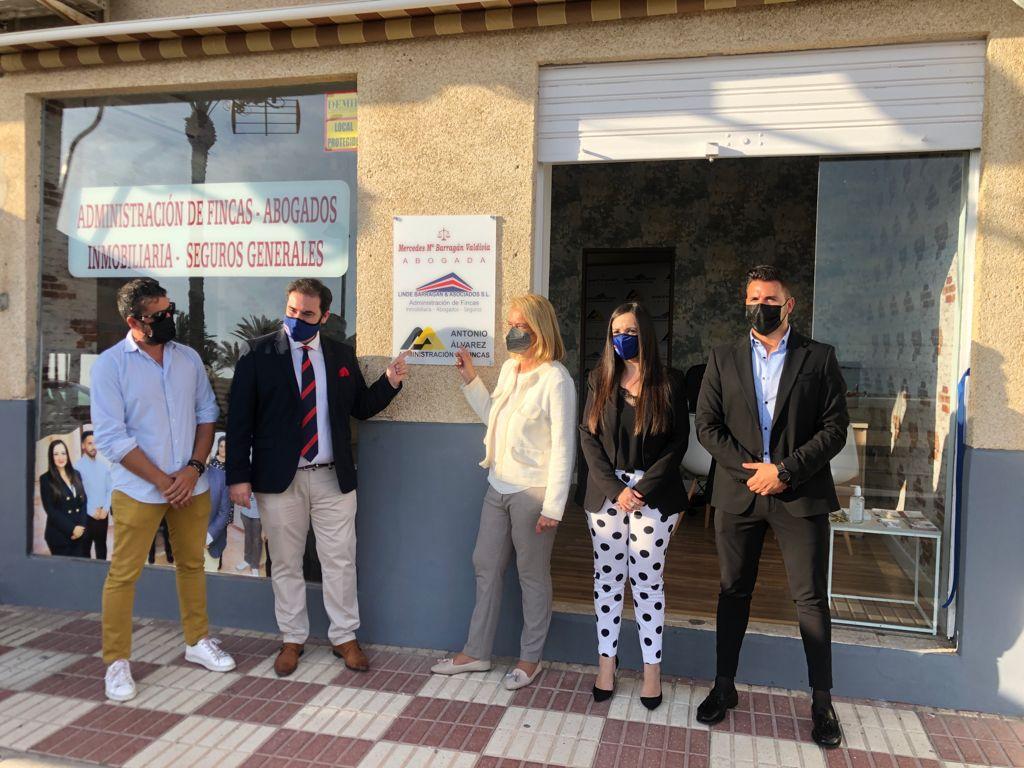 El empresario Sebastián Linde inaugura nueva sede en Torrenueva Costa