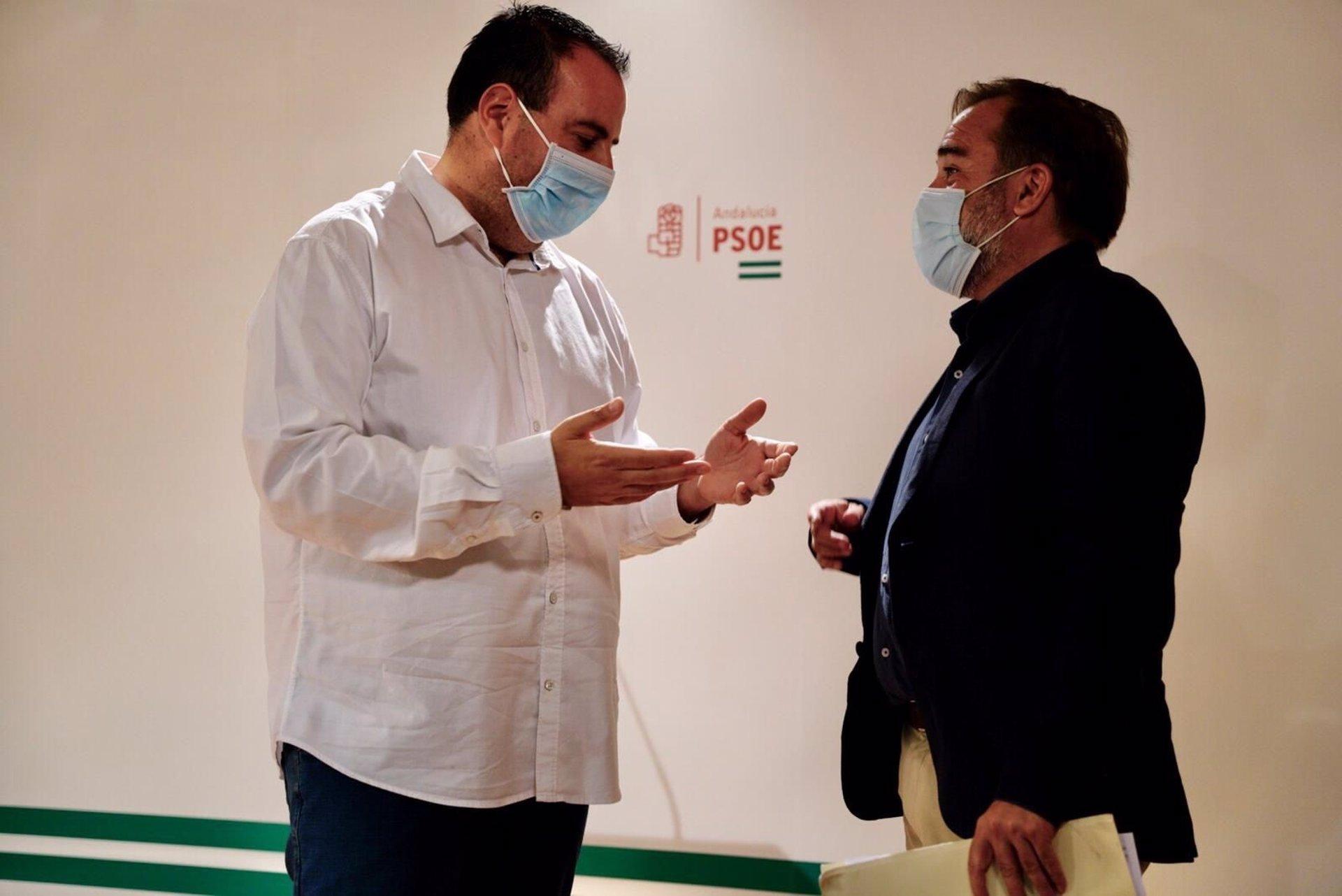 El PSOE descarta gobernar con Luis Salvador (Cs): «Con él no vamos ni al tranco de la puerta»