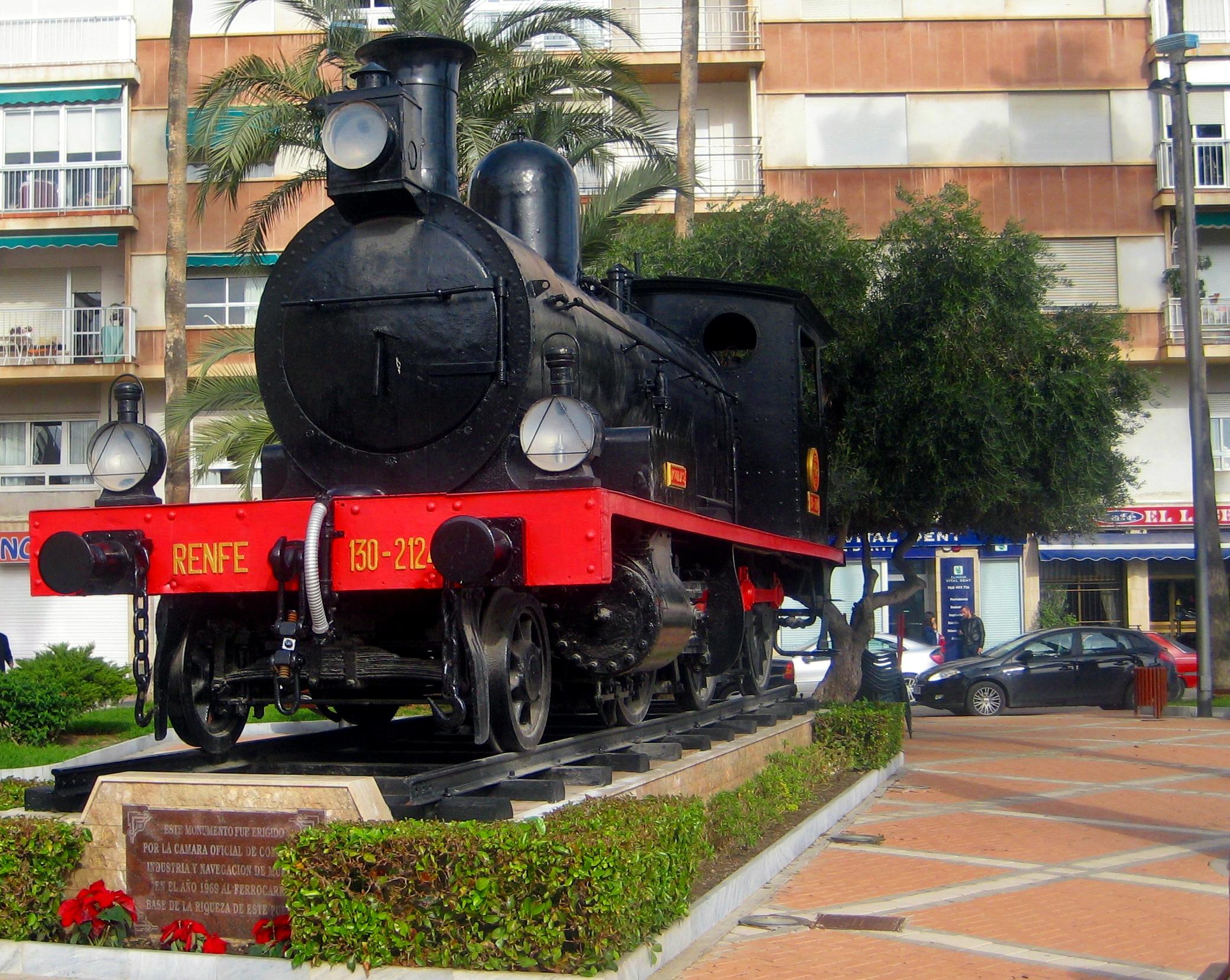 Proponen un monumento al ferrocarril en Baza para seguir reclamando la línea férrea