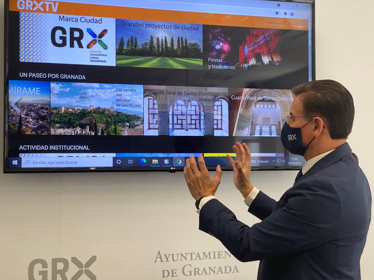 Granada pone en marcha una plataforma para poder ver la ciudad «desde cualquier parte del mundo»