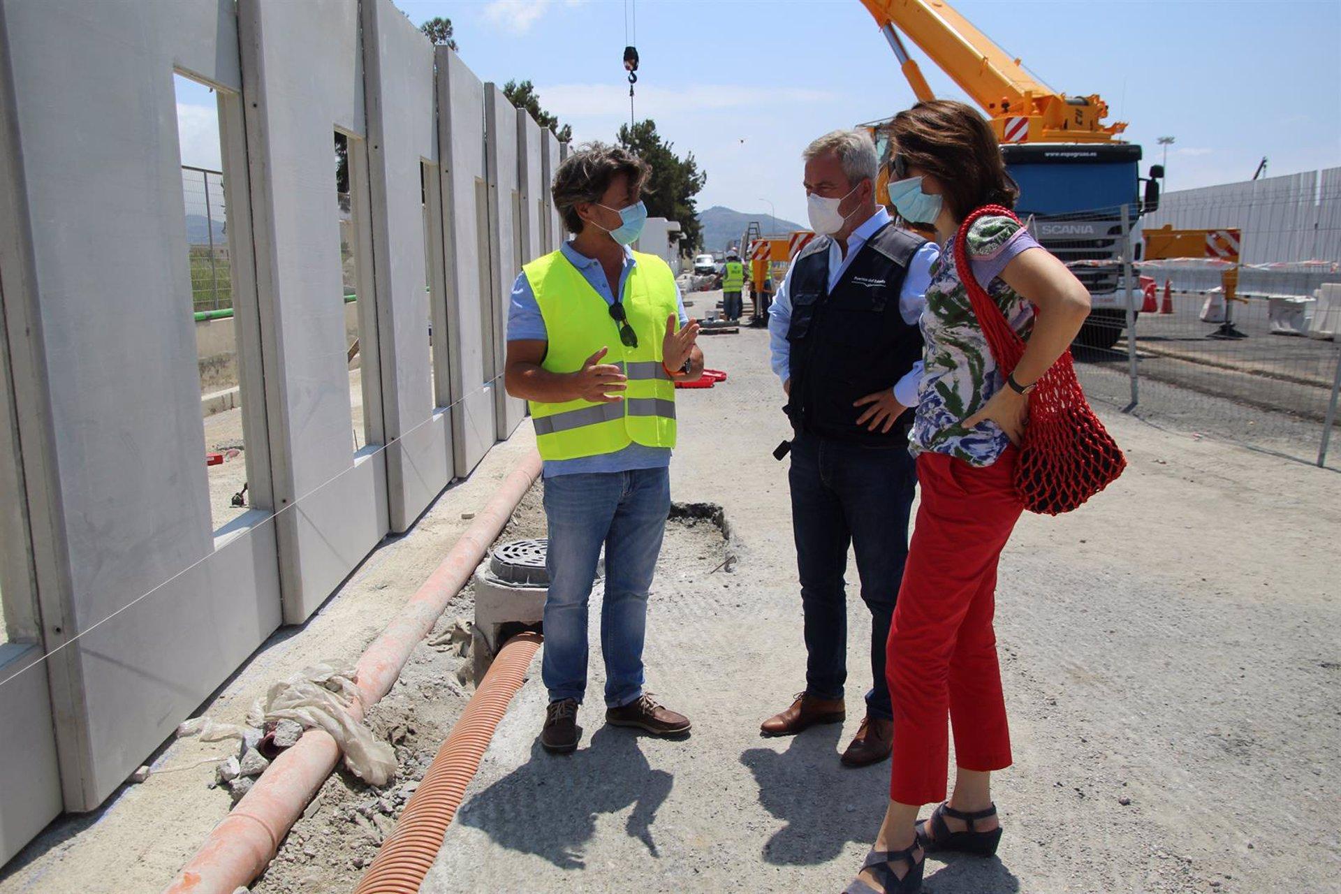 La obra de los pabellones de transitarios del puerto de Motril, finalista en un concurso «pionero»
