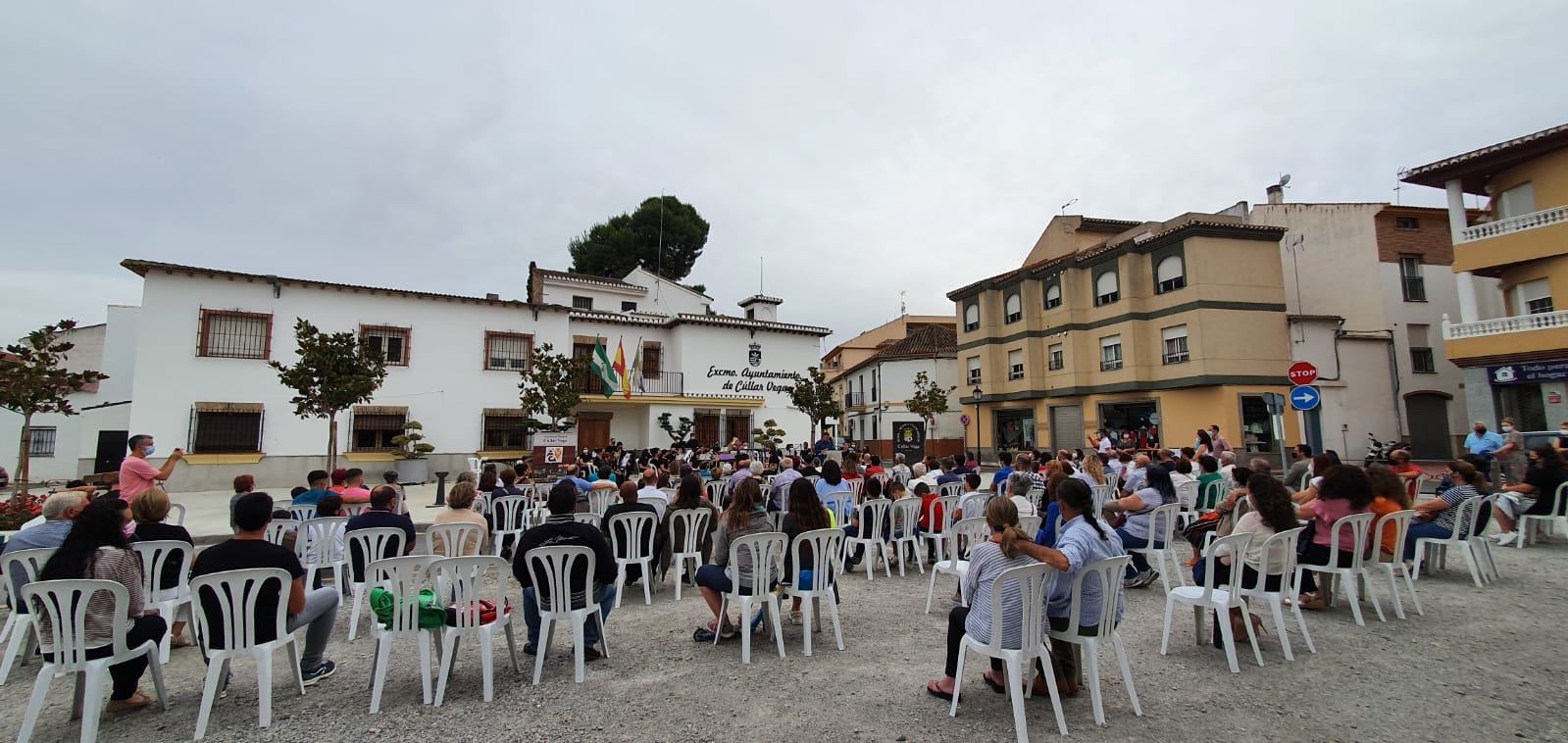 Éxito de público en el regreso de las actividades culturales a Cúllar Vega