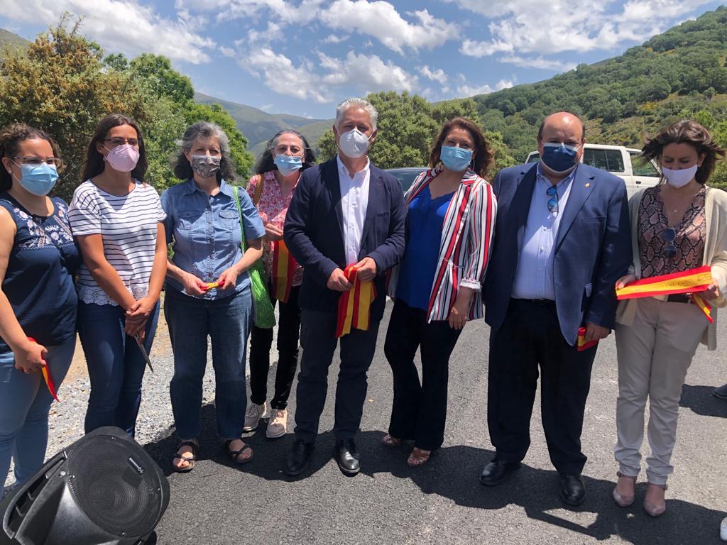 Finalizan las obras en el Camino del Coto, entre Monachil y Güéjar Sierra