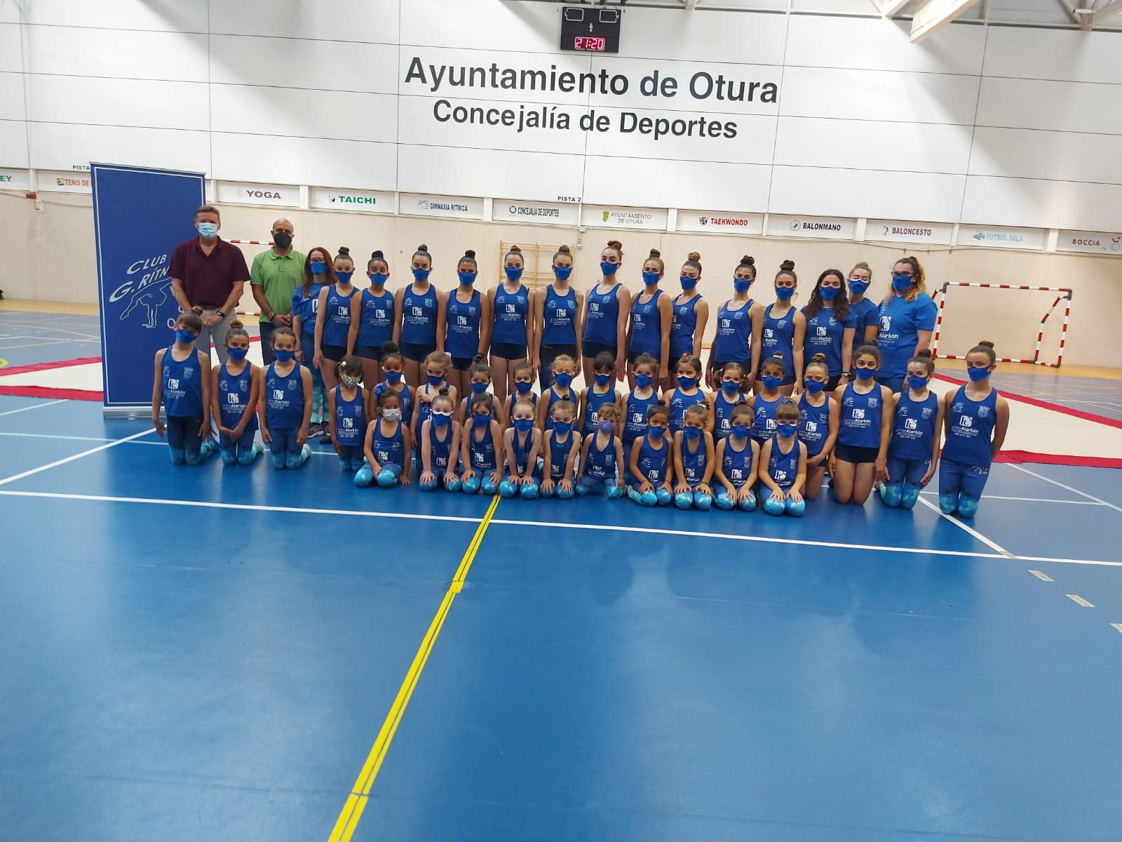 El club de rítmica 'Villa de Otura' pone el broche de oro a una temporada repleta de grandes logros