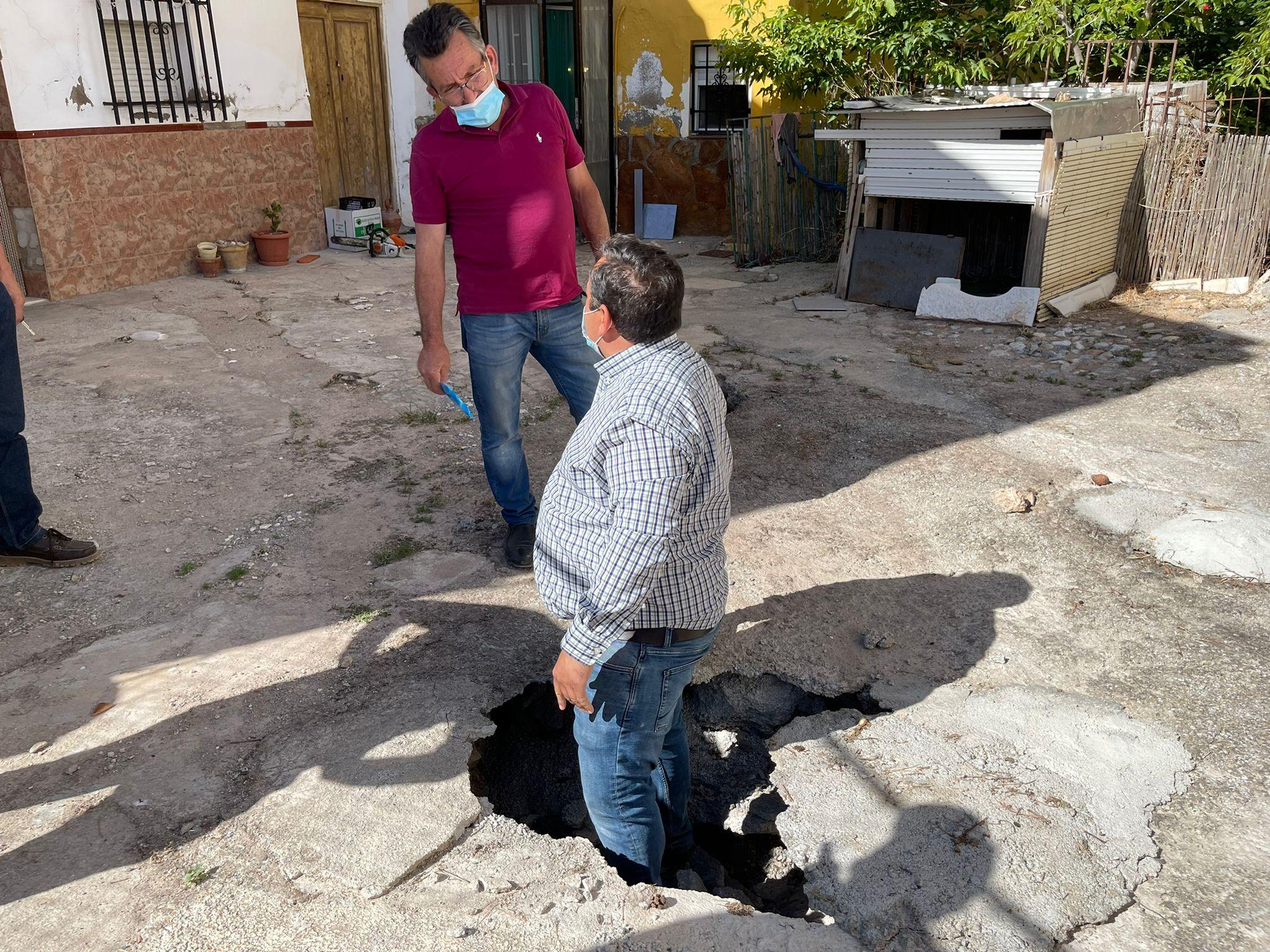 El PP reclamará ayudas a la Diputación para solventar daños de las últimas tormentas en Freila