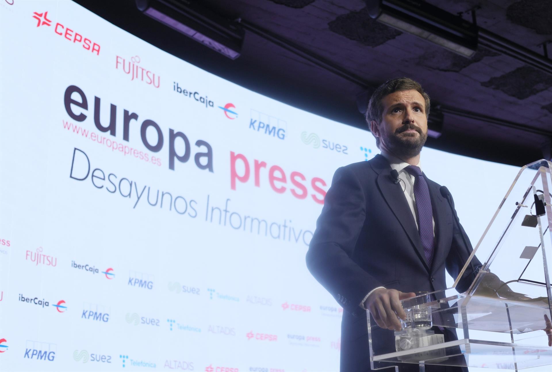 Casado cree que el Gobierno de Moreno es «estable» y pide que prevalezca el interés de los andaluces