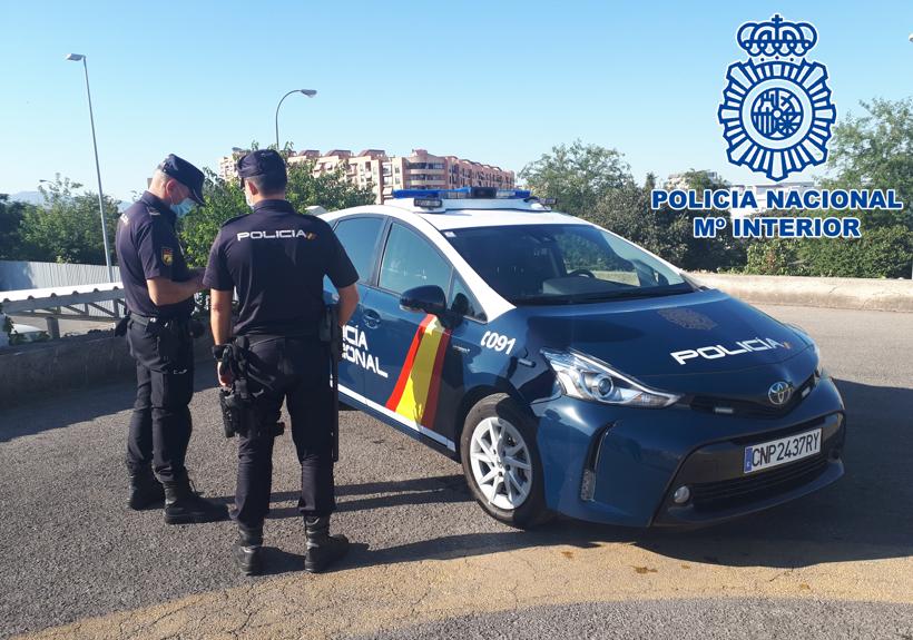 Detenido por el robo en el interior de un piso situado en el centro de Granada