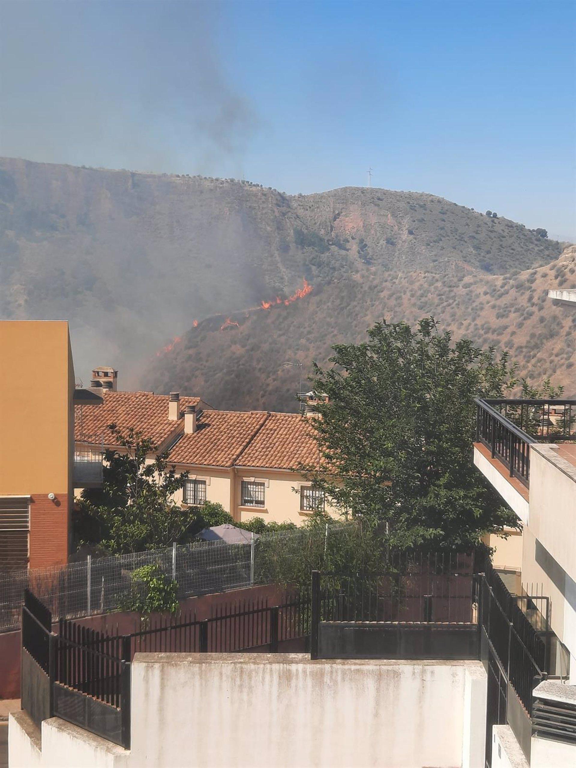 Controlado el incendio forestal declarado en Cenes de la Vega