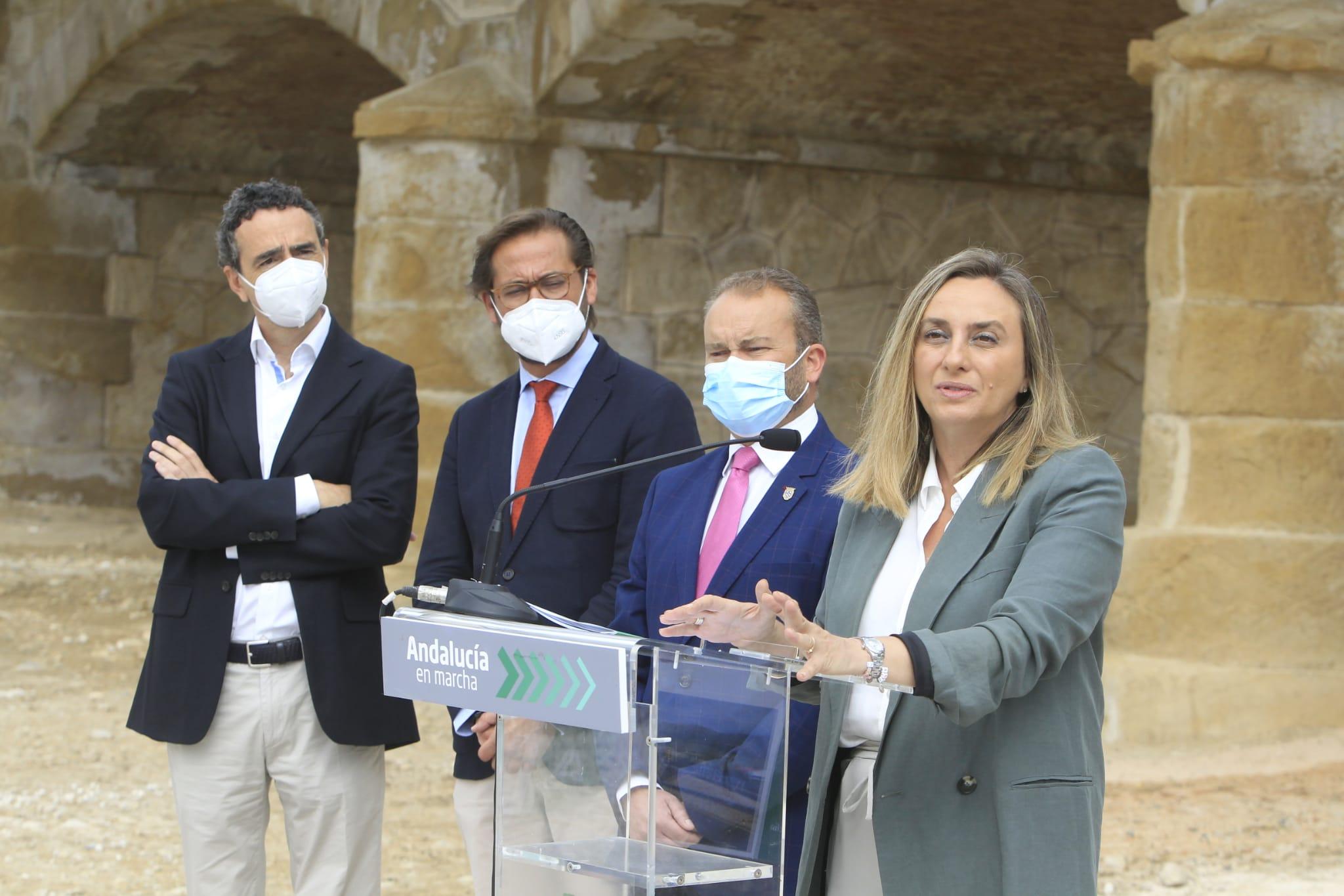Inaugurado el nuevo puente de Puebla de Don Fadrique en la carretera A-330