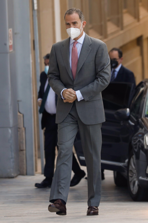 El Rey Felipe VI recibe este lunes en Sevilla la primera Medalla de Honor de Andalucía, concedida por la Junta