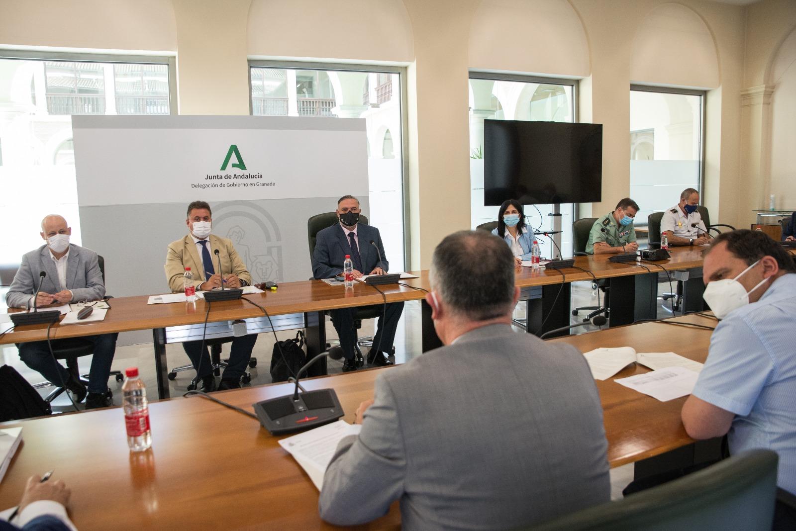 La Junta asigna casi 25 millones de euros al operativo INFOCA en la provincia de Granada