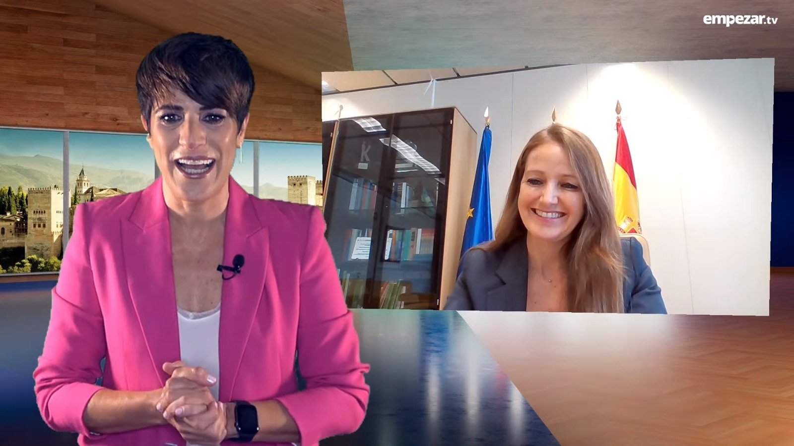 AR VISION 2049 y GREENING Ingeniería  Civil y Ambiental ganan la octava edición  de los Premios Emprendemos de Granada